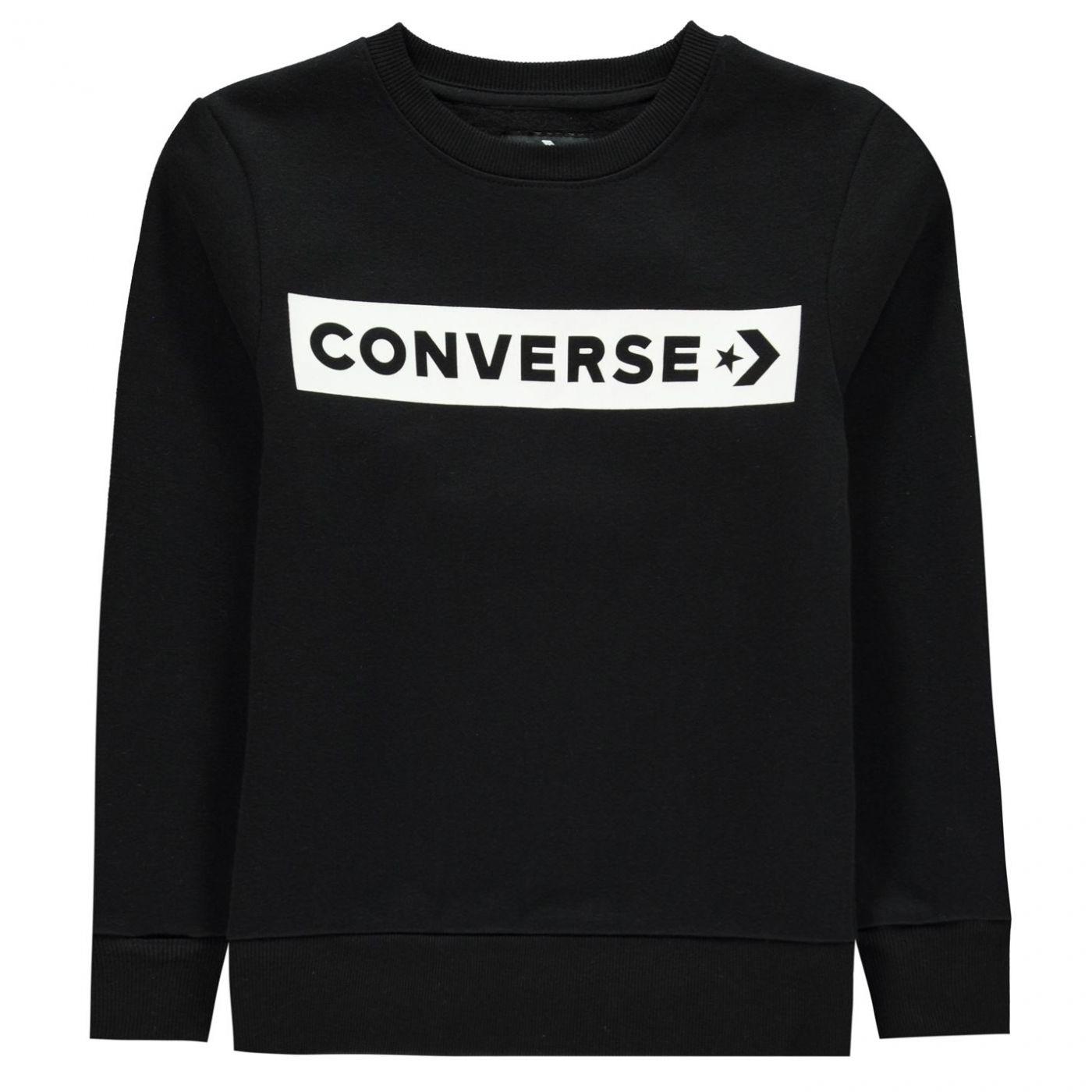 Converse Wordmark Sweatshirt Junior Boys