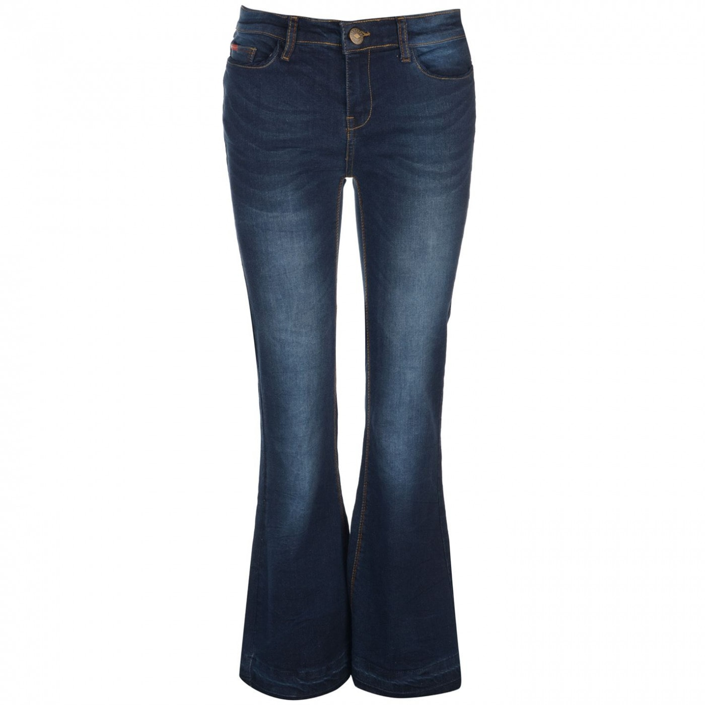 Lee Cooper Flare Hem Jeans Ladies
