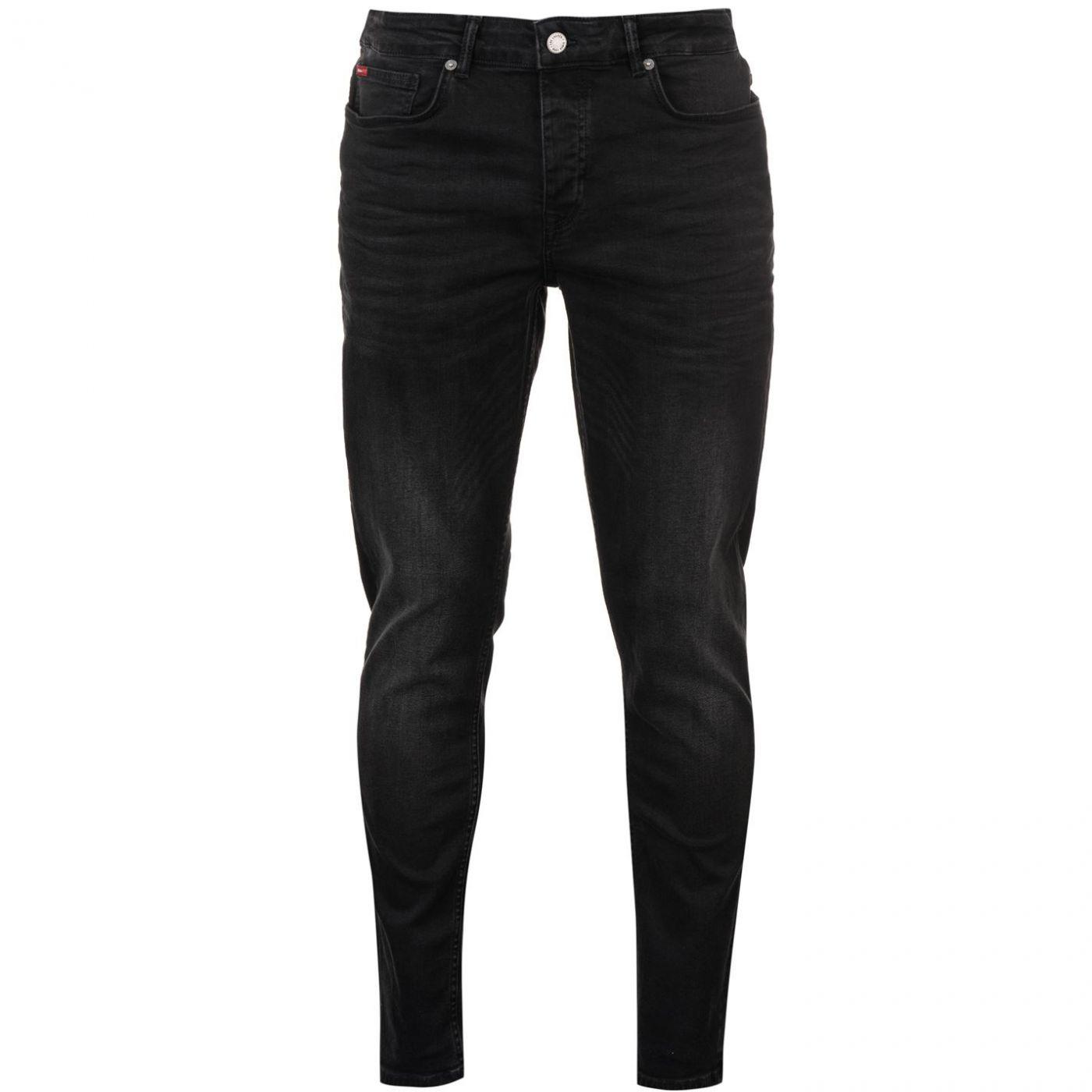 Lee Cooper Black Mens Jeans