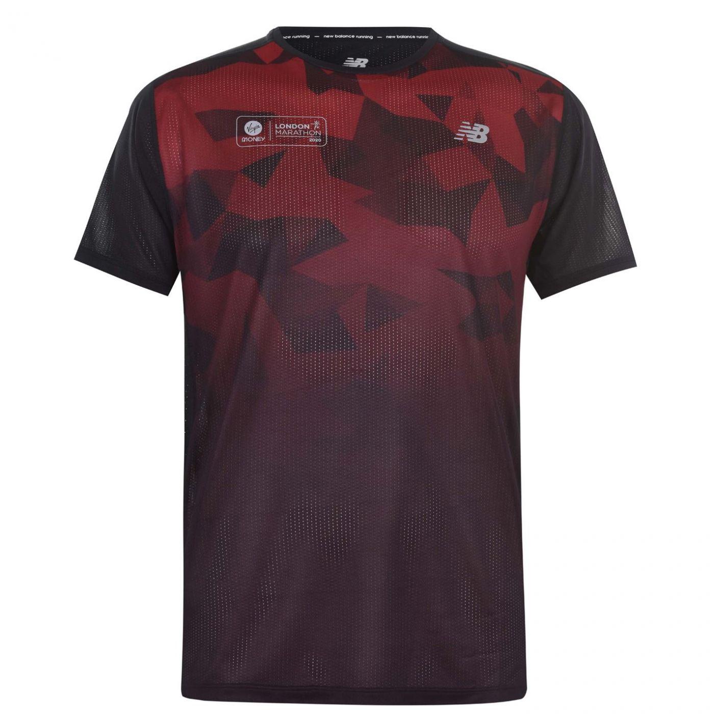 New Balance Virgin London Marathon T Shirt Mens