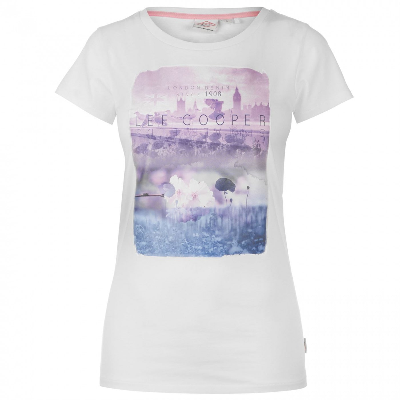 Tričko Lee Cooper Fashion Photo T Shirt dámske