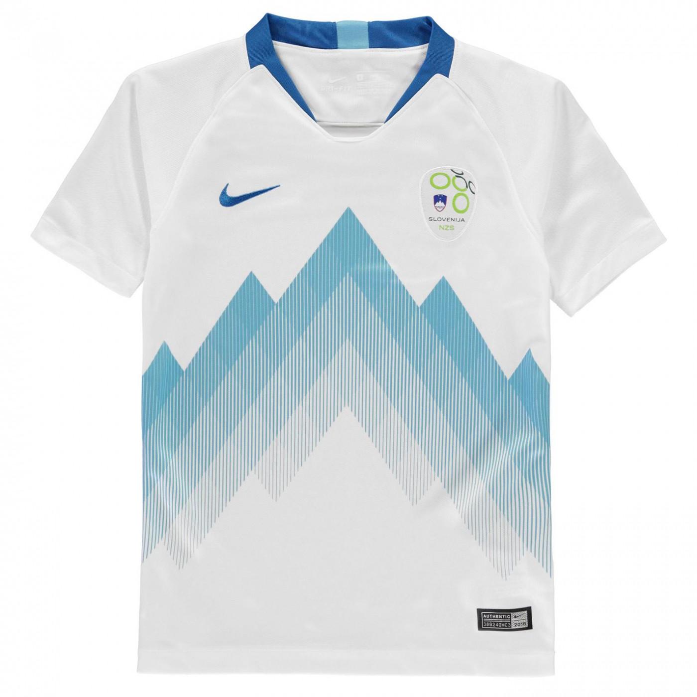 d74ae271184a Nike Slovenia Home Shirt 2018 Junior - ALIATIC