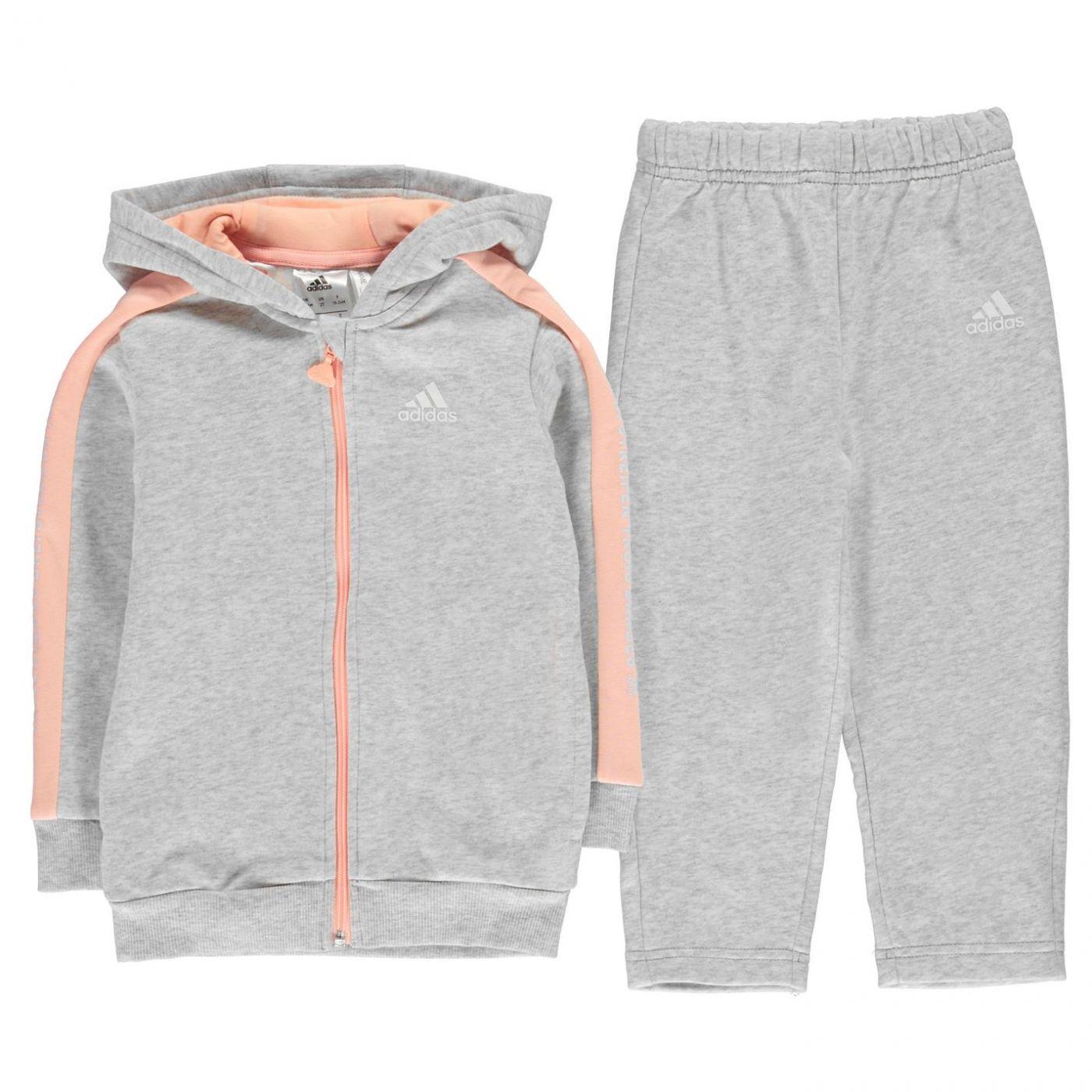 Adidas Logo Tracksuit Infant Girls