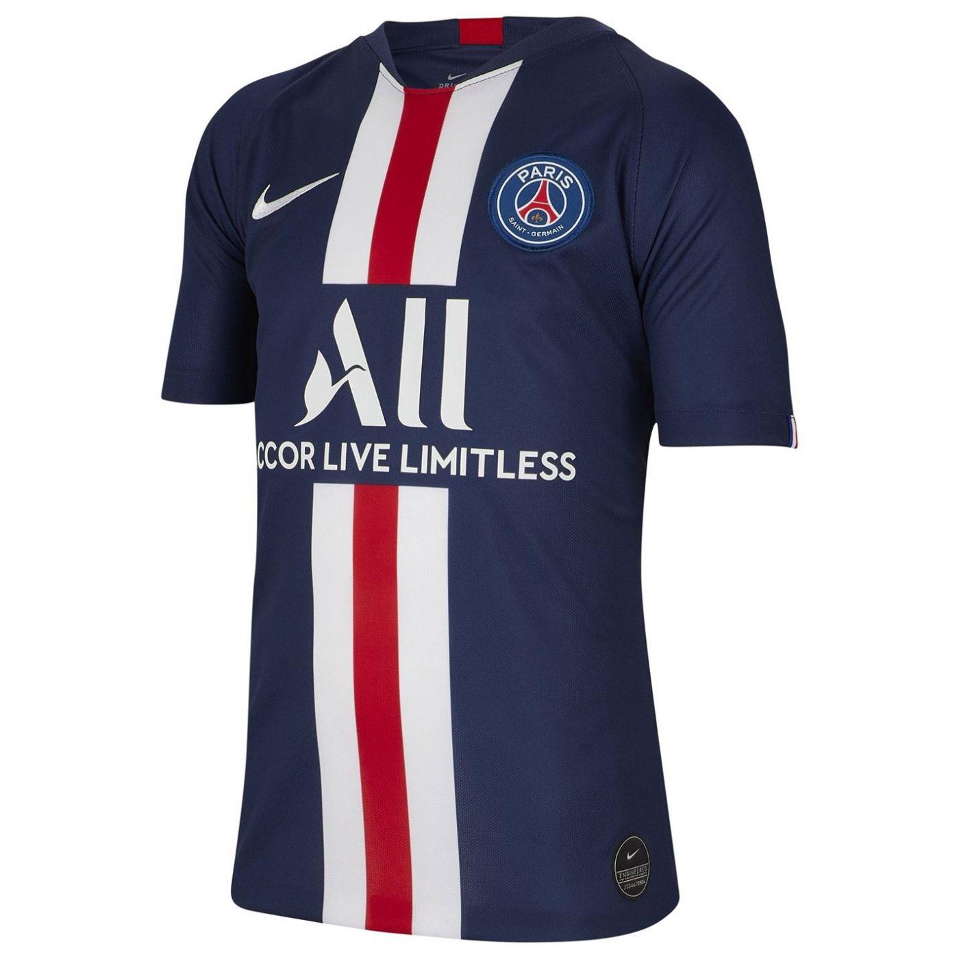 Nike Paris Saint Germain Home Shirt 2019 2020 Junior