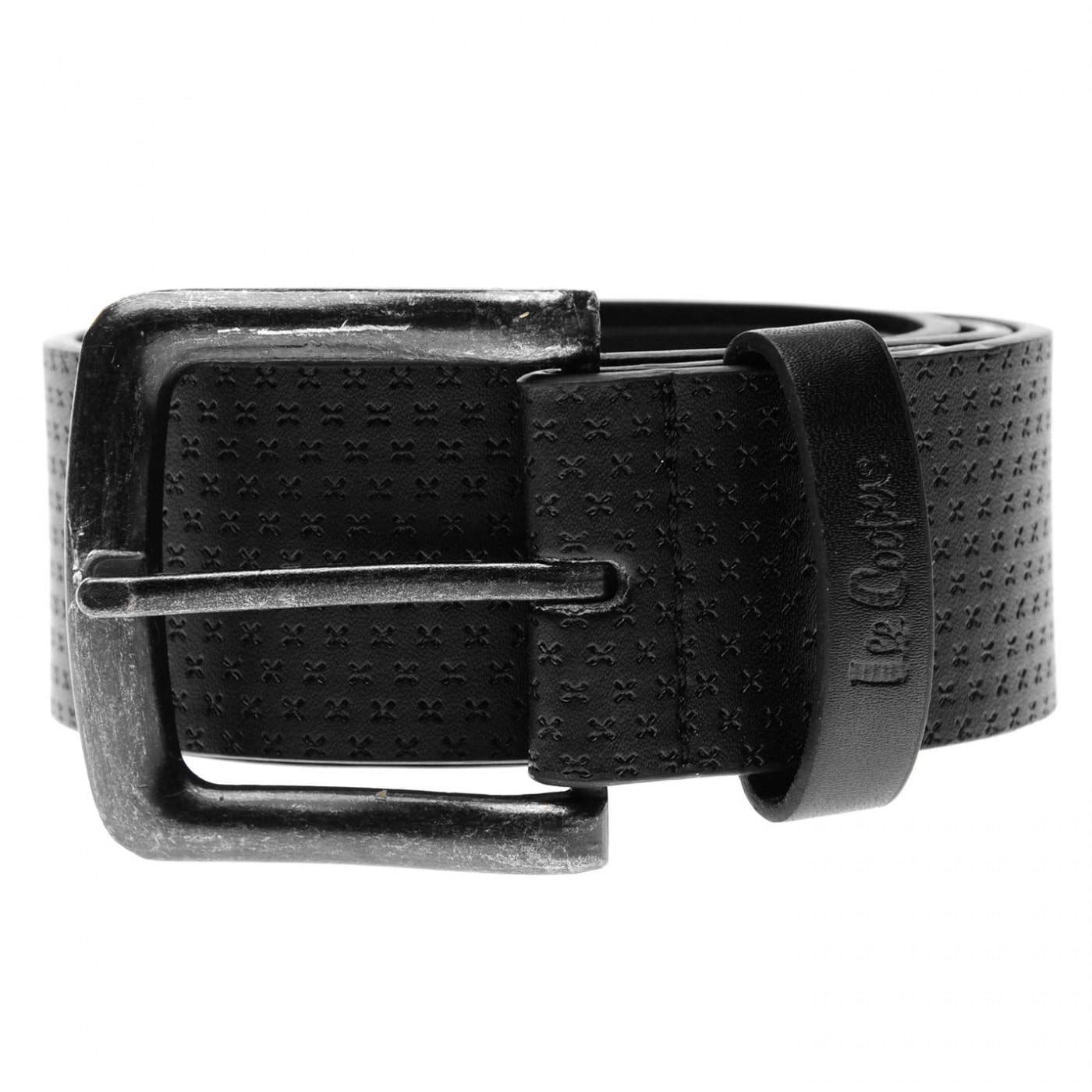 Lee Cooper Pattern Belt Mens