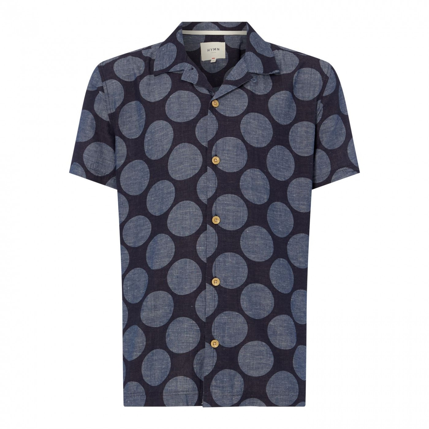 Hymn Short Sleeved Spot Resort Shirt
