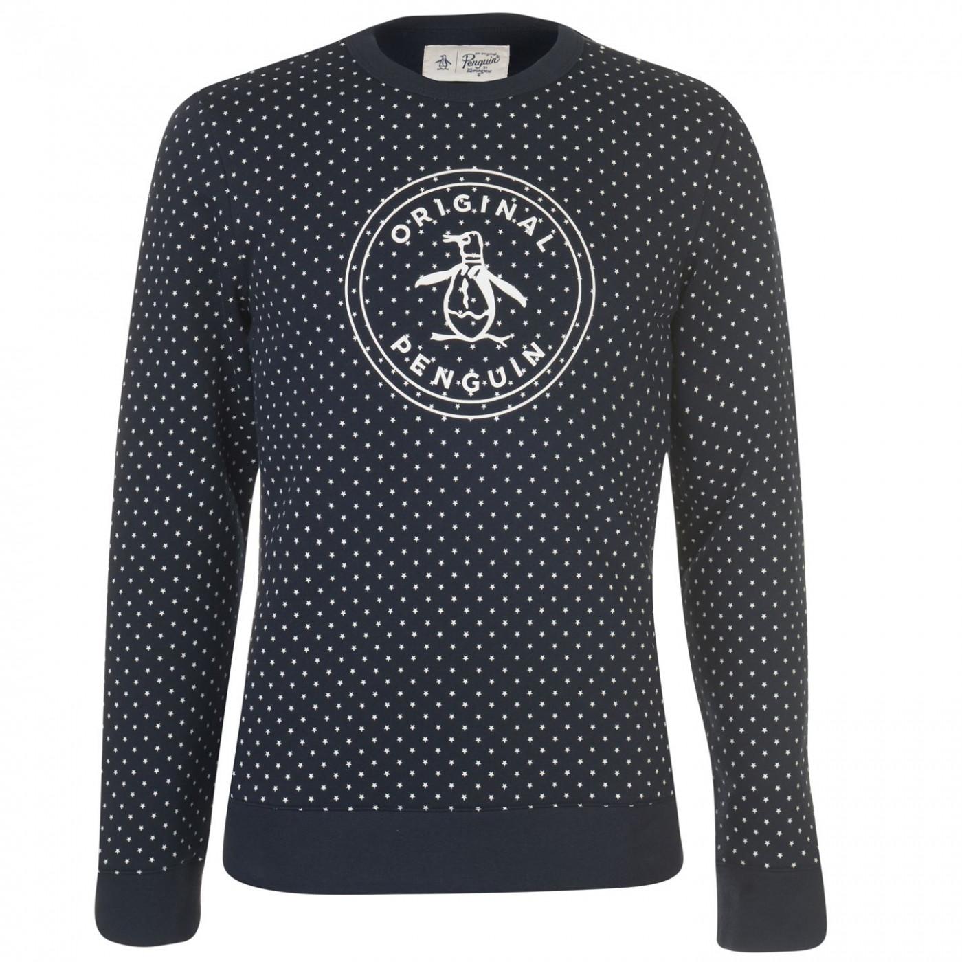 Original Penguin Original Stamp Logo Sweater