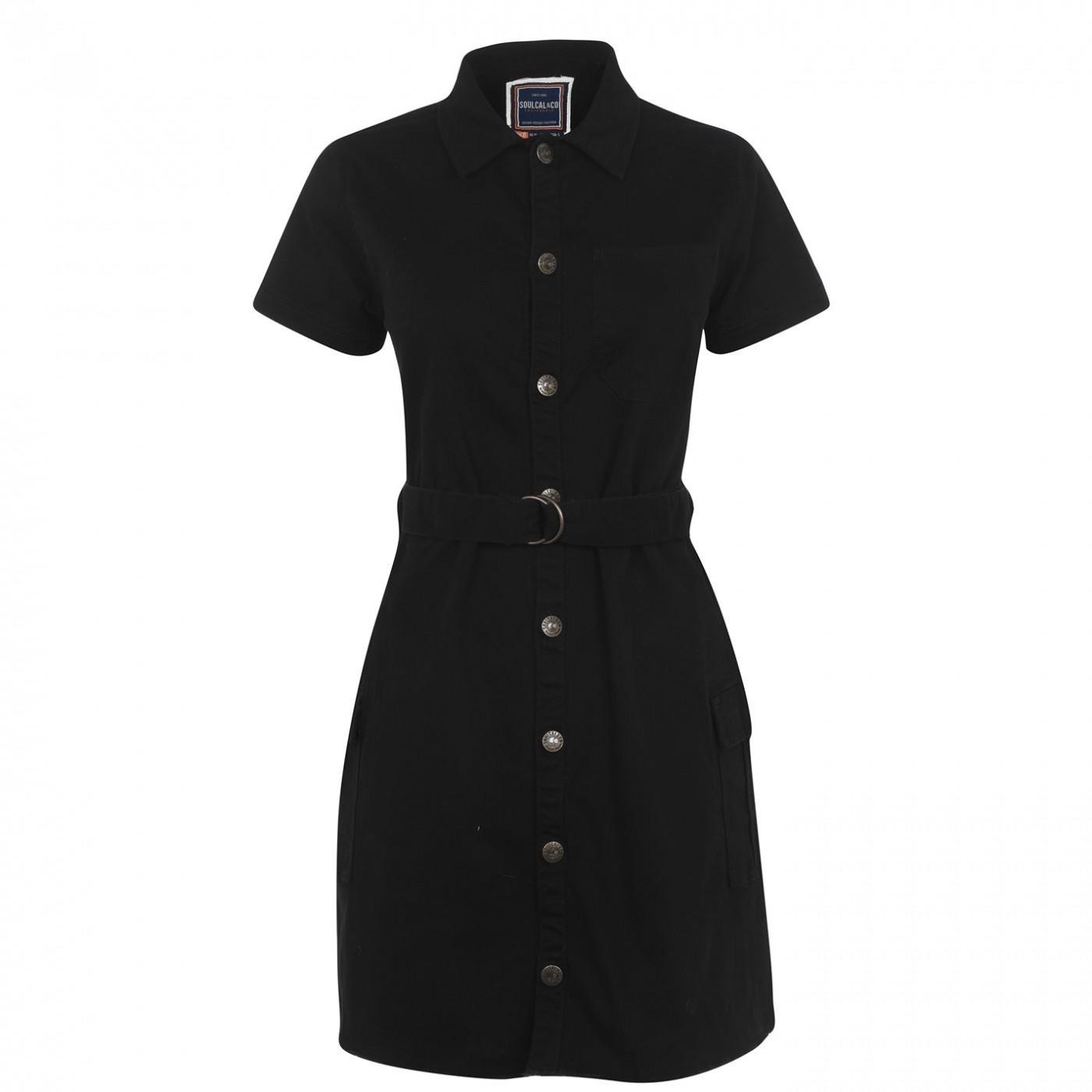 SoulCal Shirt Dress Ladies