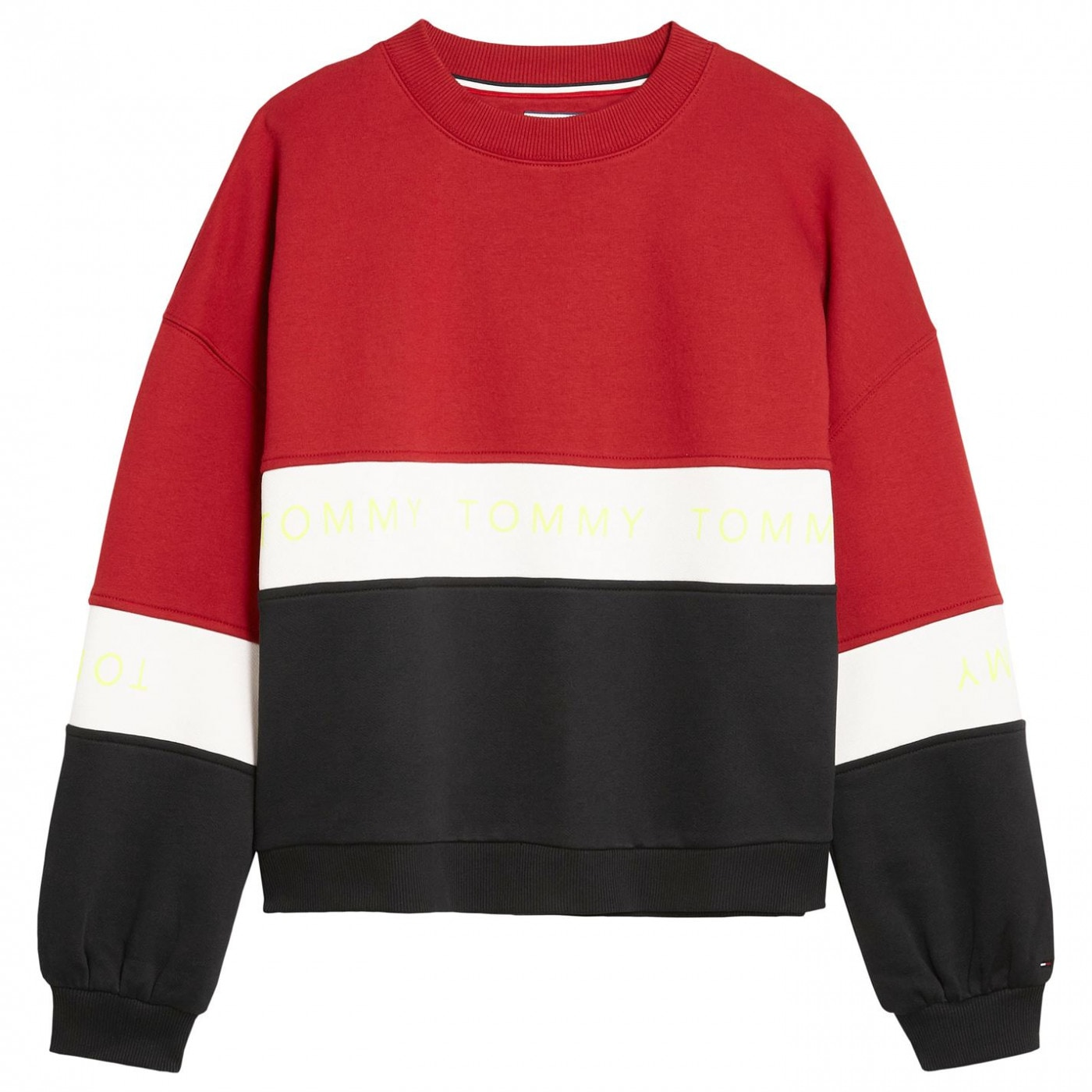 Tommy Jeans Tri-Colour Sweatshirt