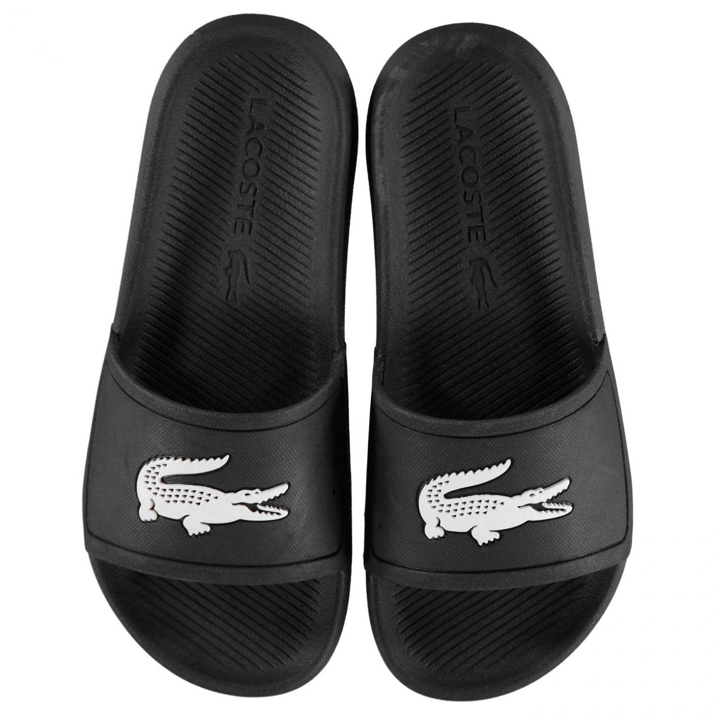 Lacoste Crocodile Logo Sliders