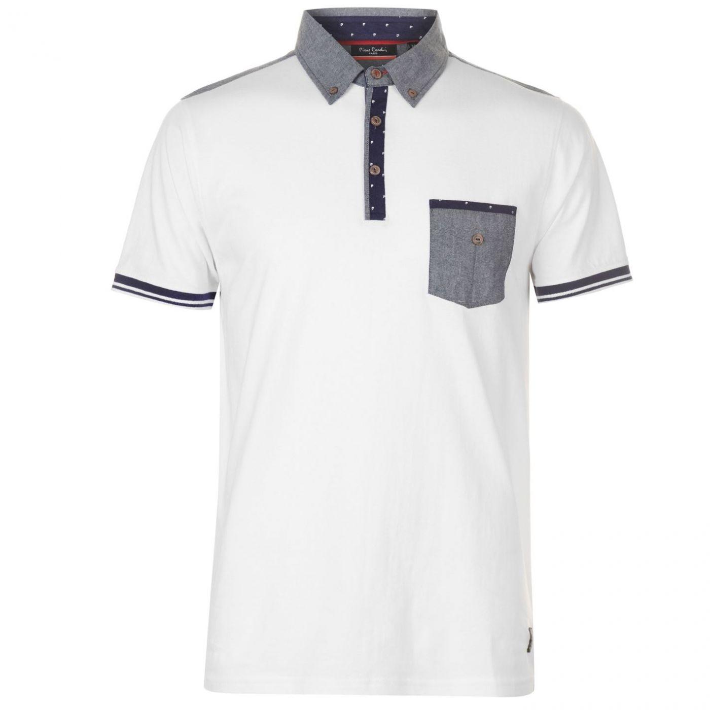 30424aca3f12 Pierre Cardin Printed Trim Polo Shirt Mens - FACTCOOL