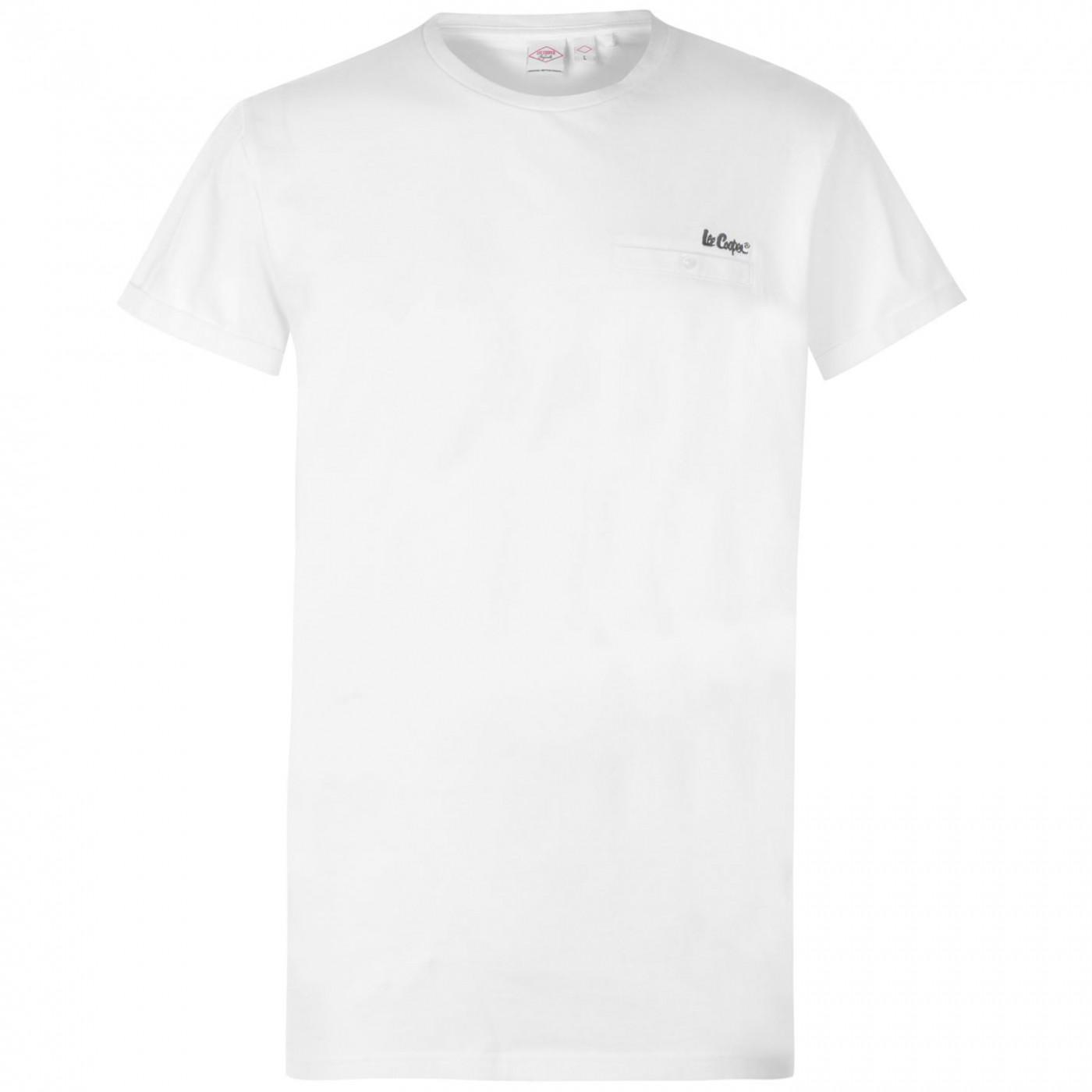 Lee Cooper Essentials Roll Sleeve T Shirt Mens