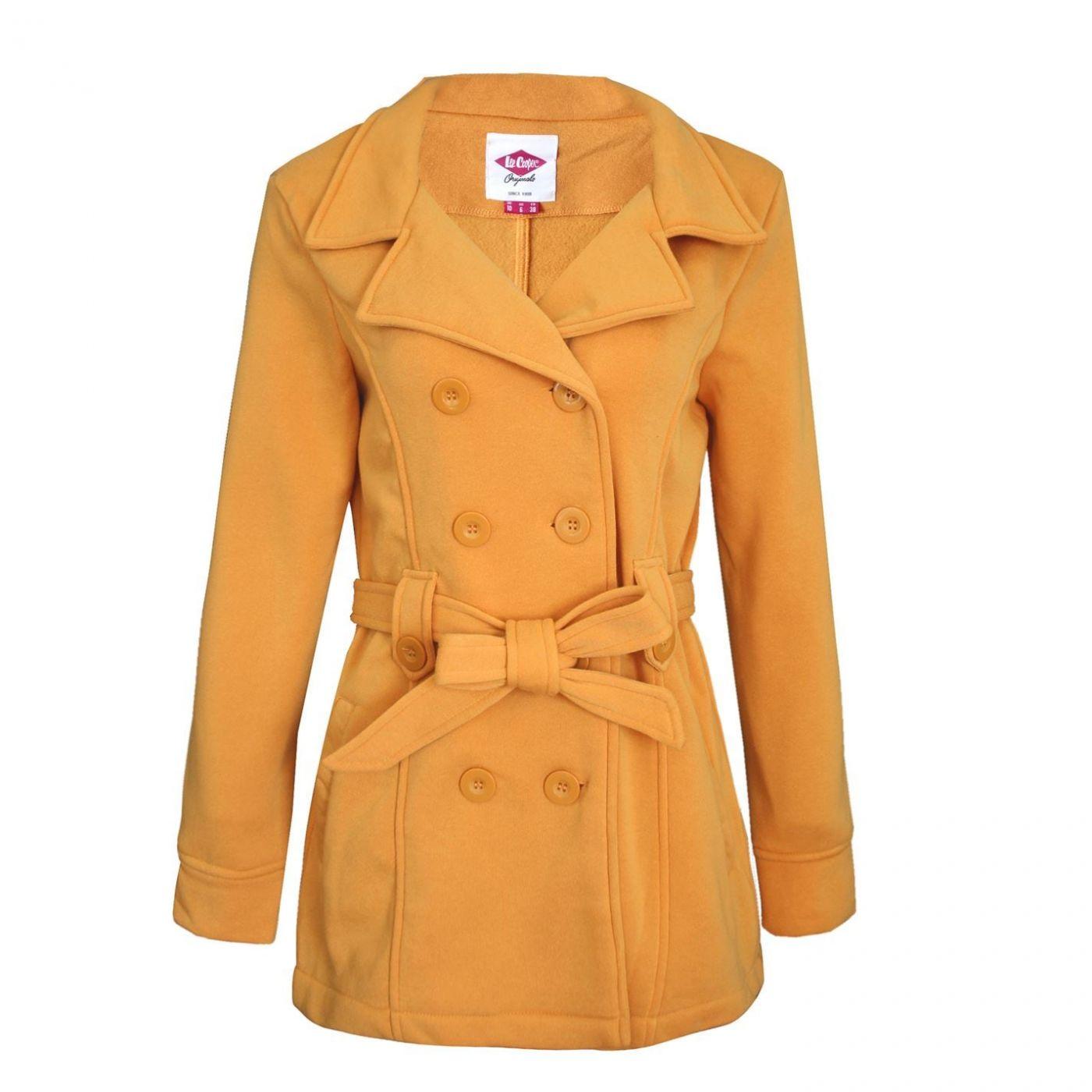 Lee Cooper Belt Coat Ladies