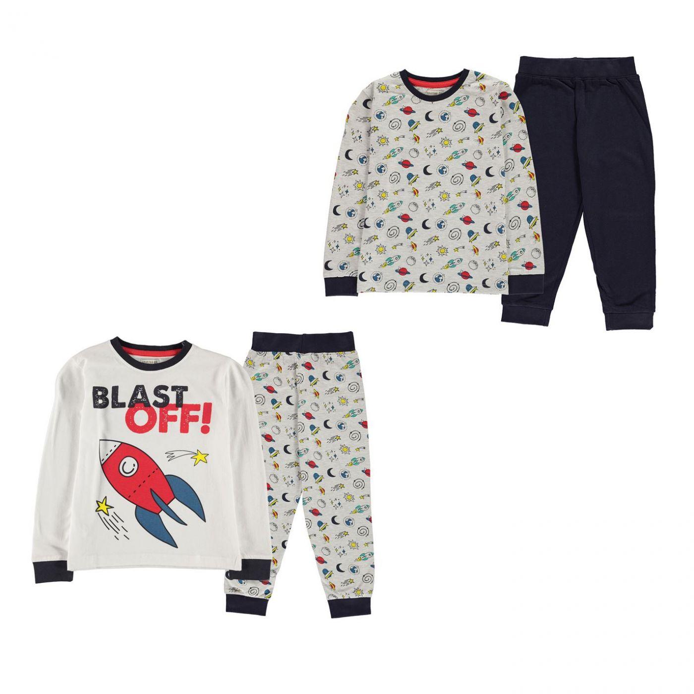 Crafted 2 Pack Design Pyjamas Infants