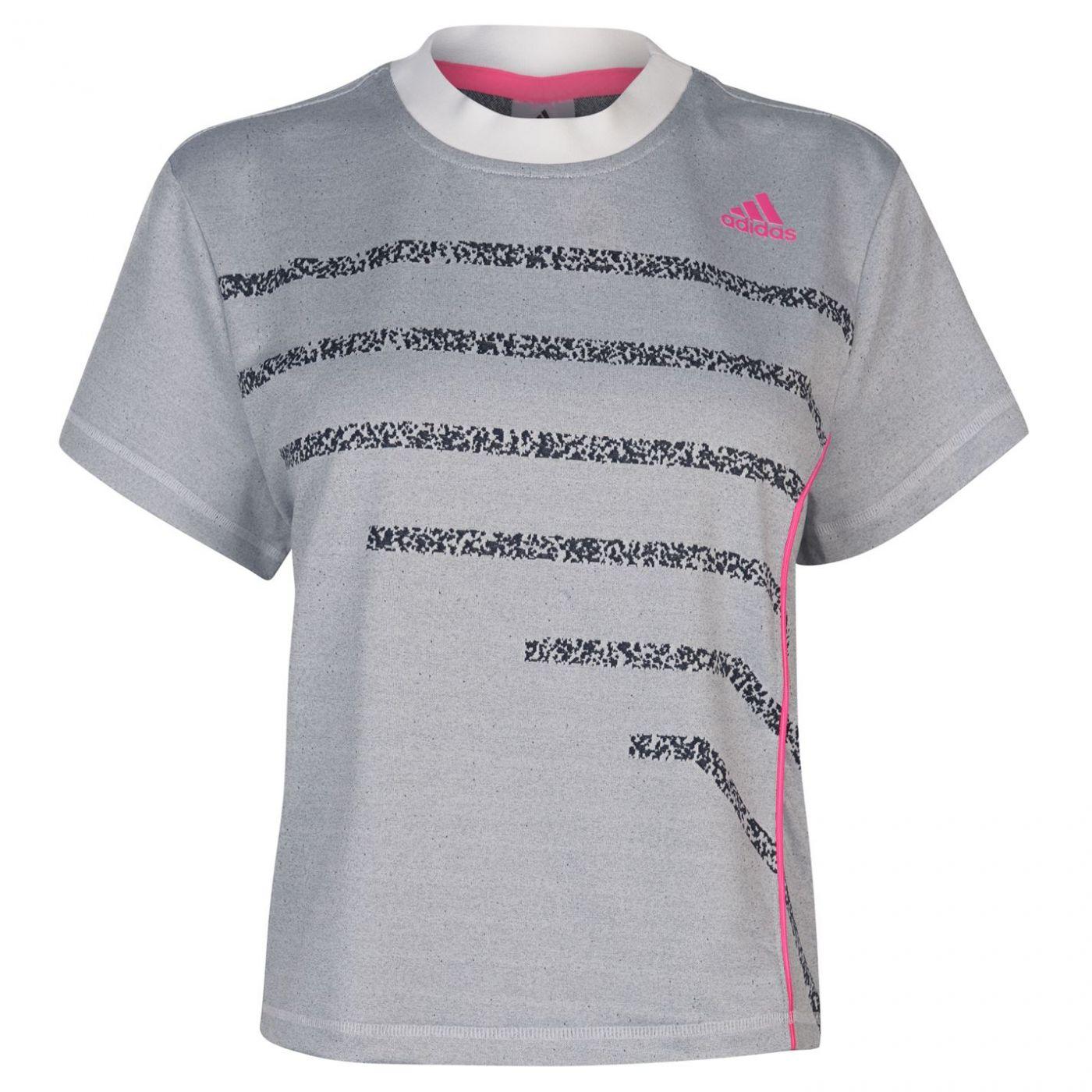 Adidas Seasonal Tennis T Shirt Ladies