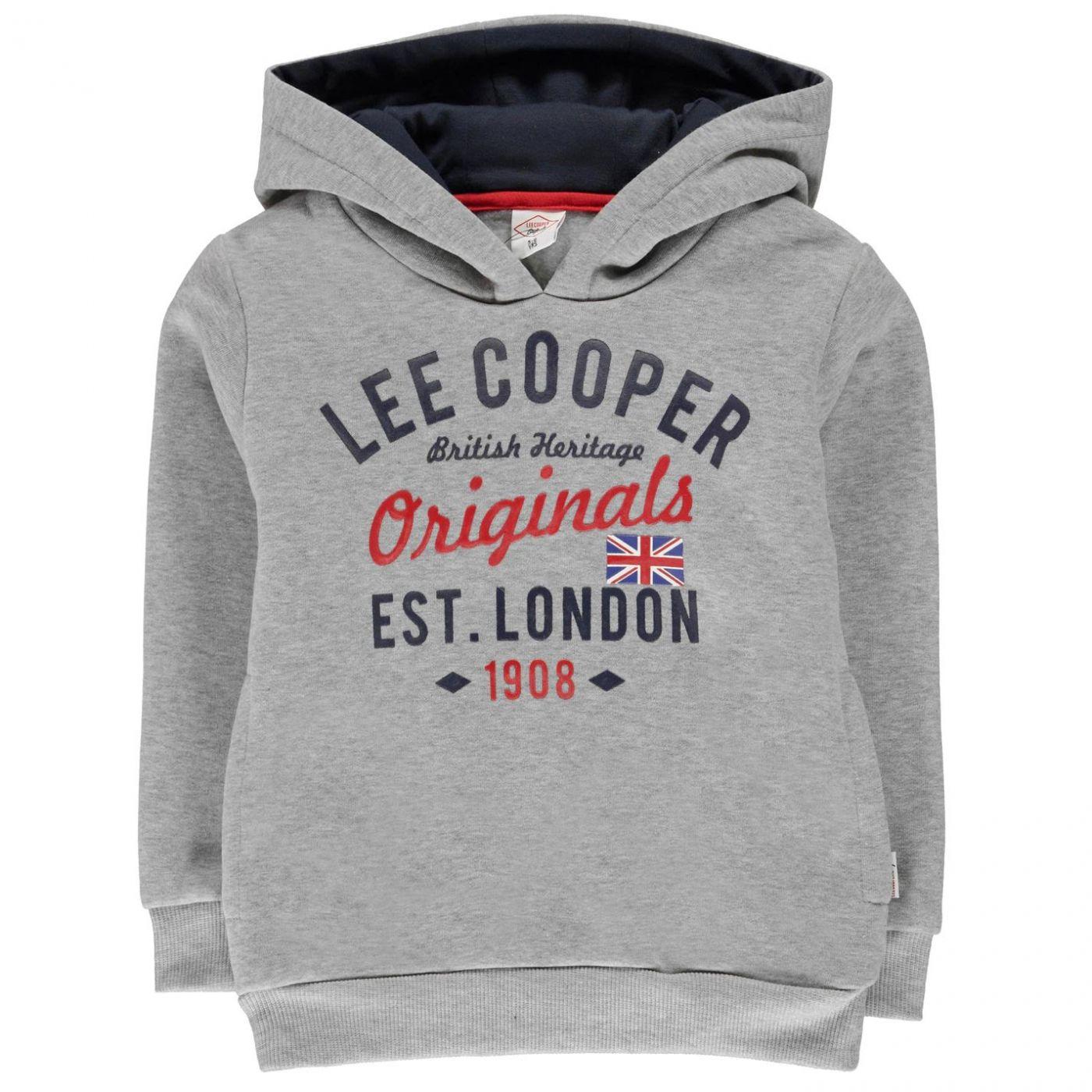 Boys' hoodie Lee Cooper London OTH