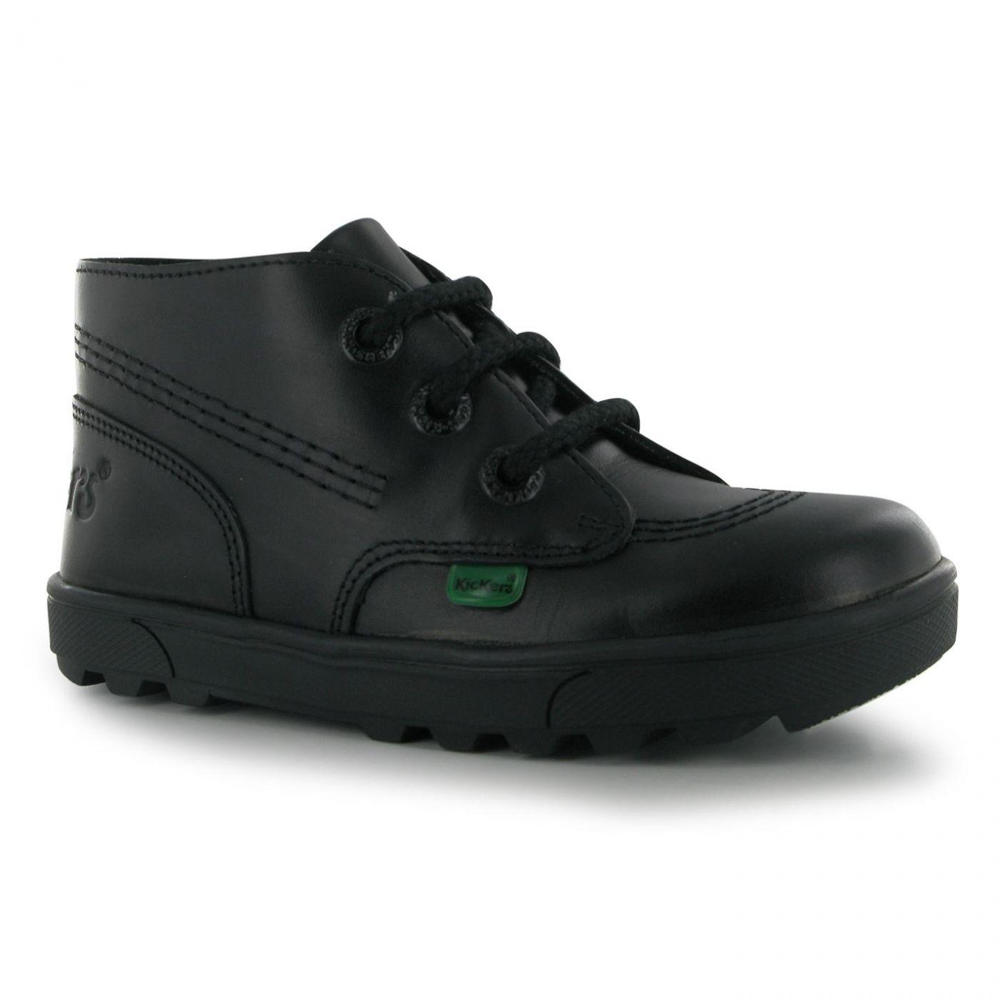 Kickers Disley Hi Childrens Shoes