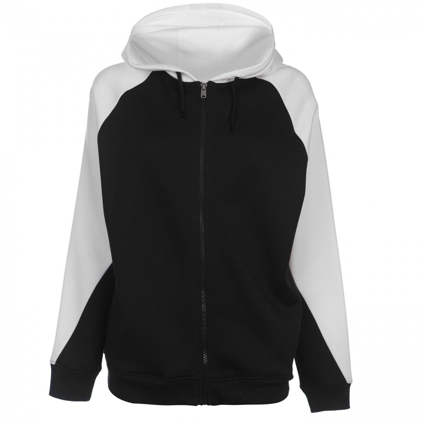 LA Gear Cut and Sew Full Zipped Hoody Ladies