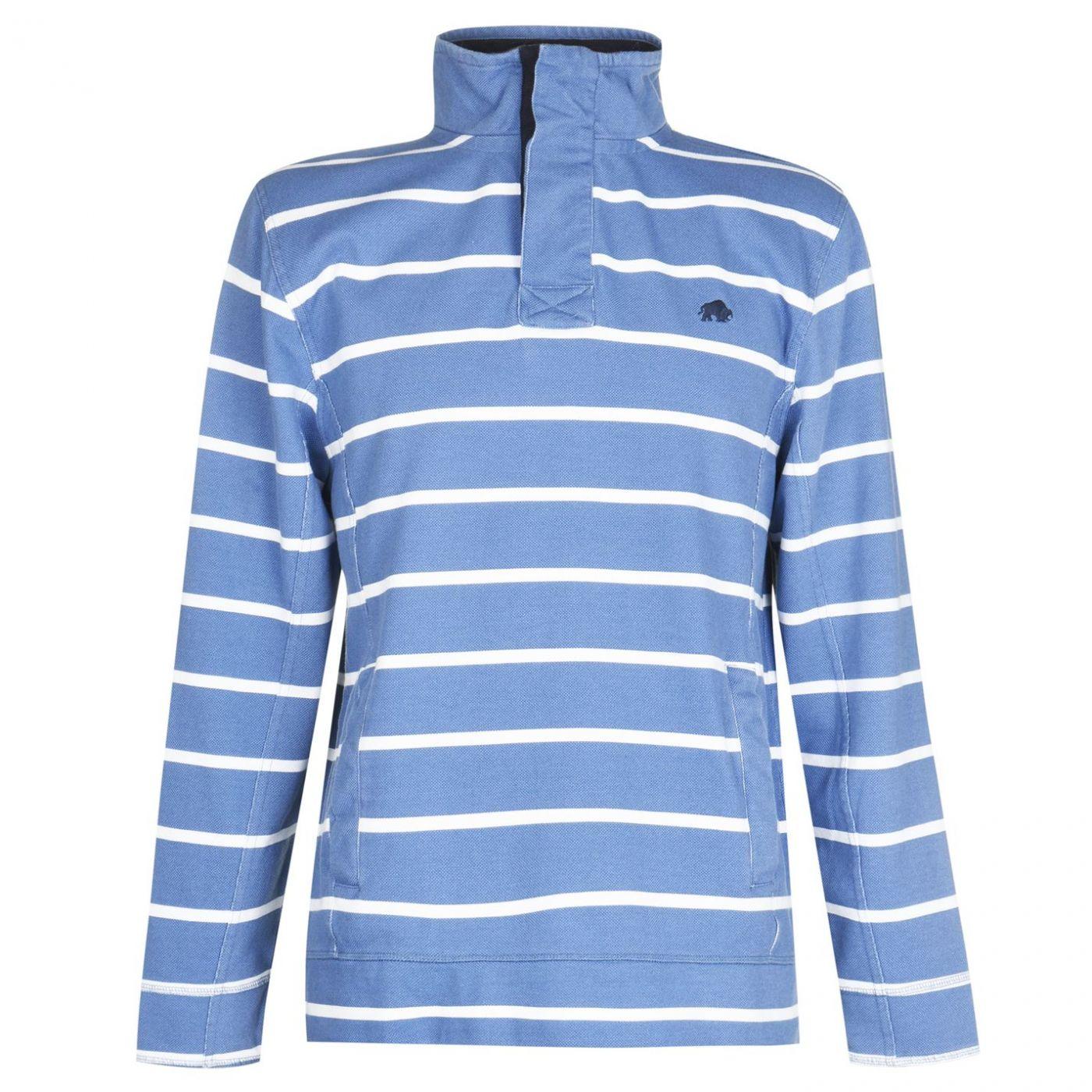Raging Bull Stripe Zip Sweatshirt