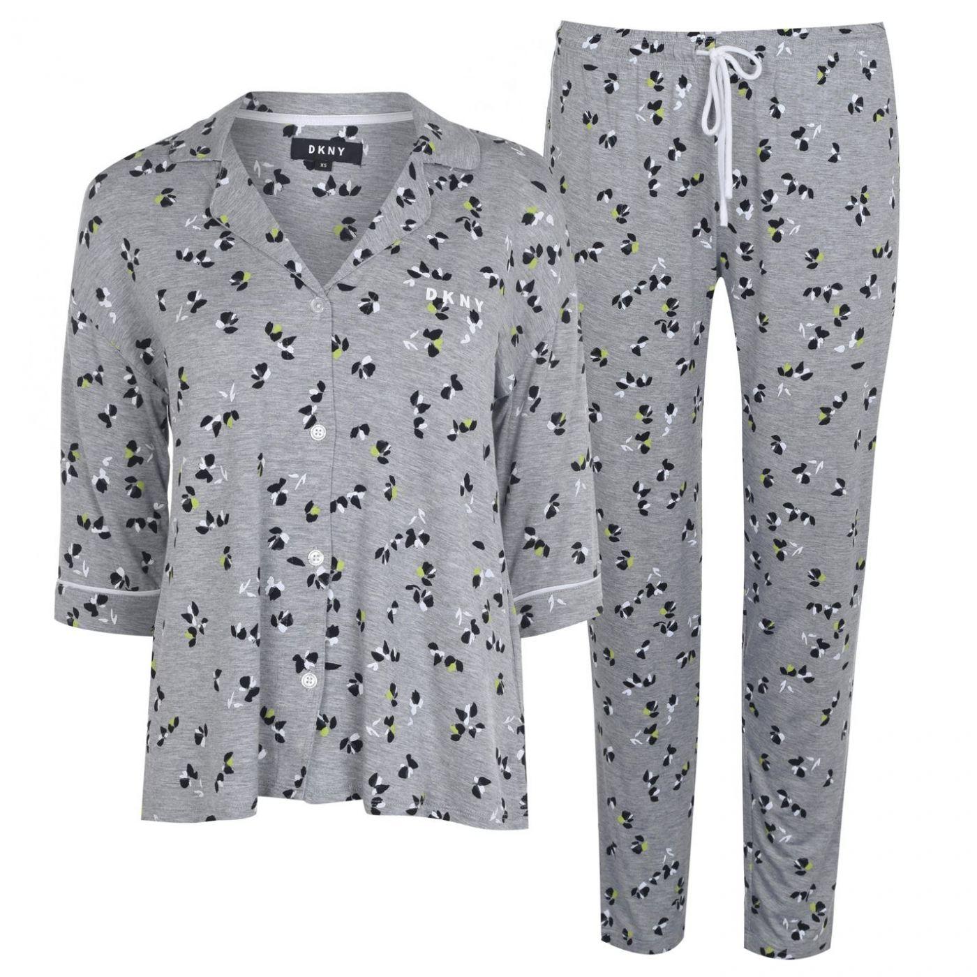 DKNY Floral Jersey Pyjama Set