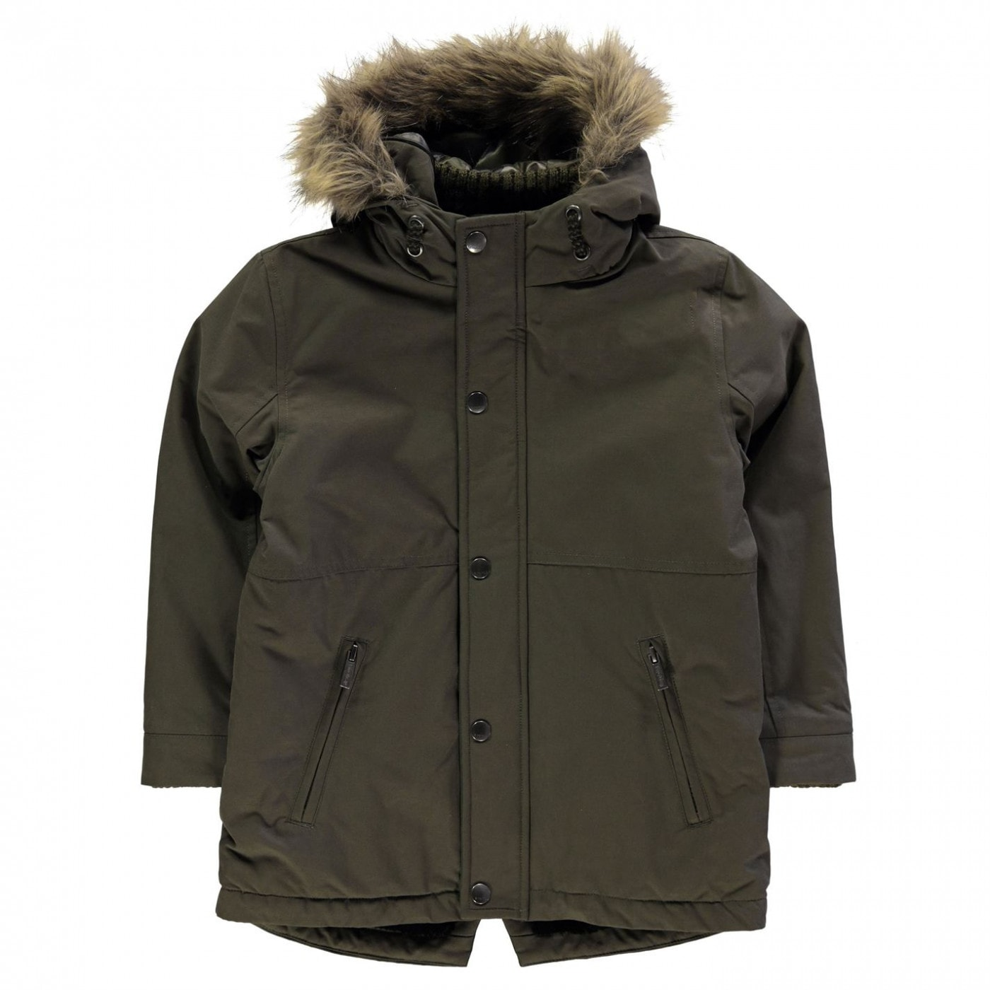 Firetrap Luxe Parka Jacket Junior Boys