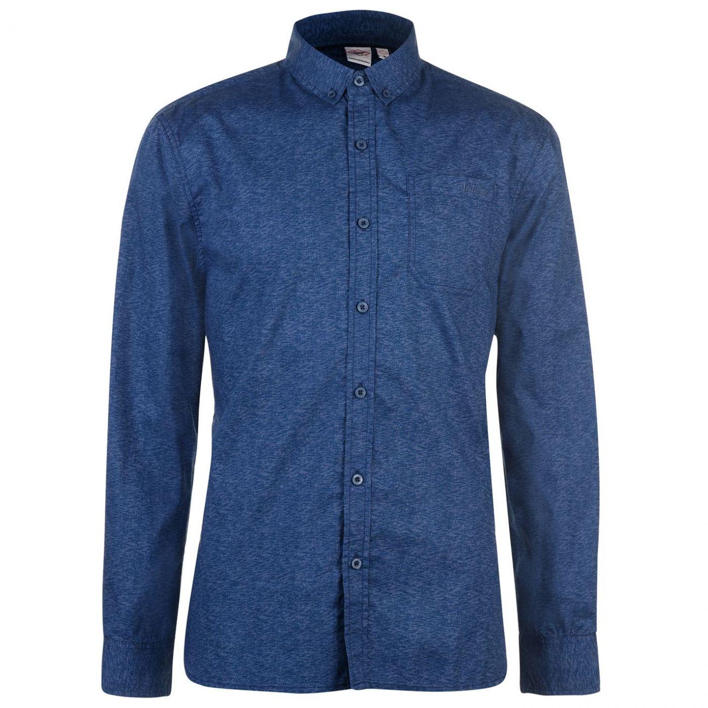 Lee Cooper Long Sleeve AOP Shirt Mens