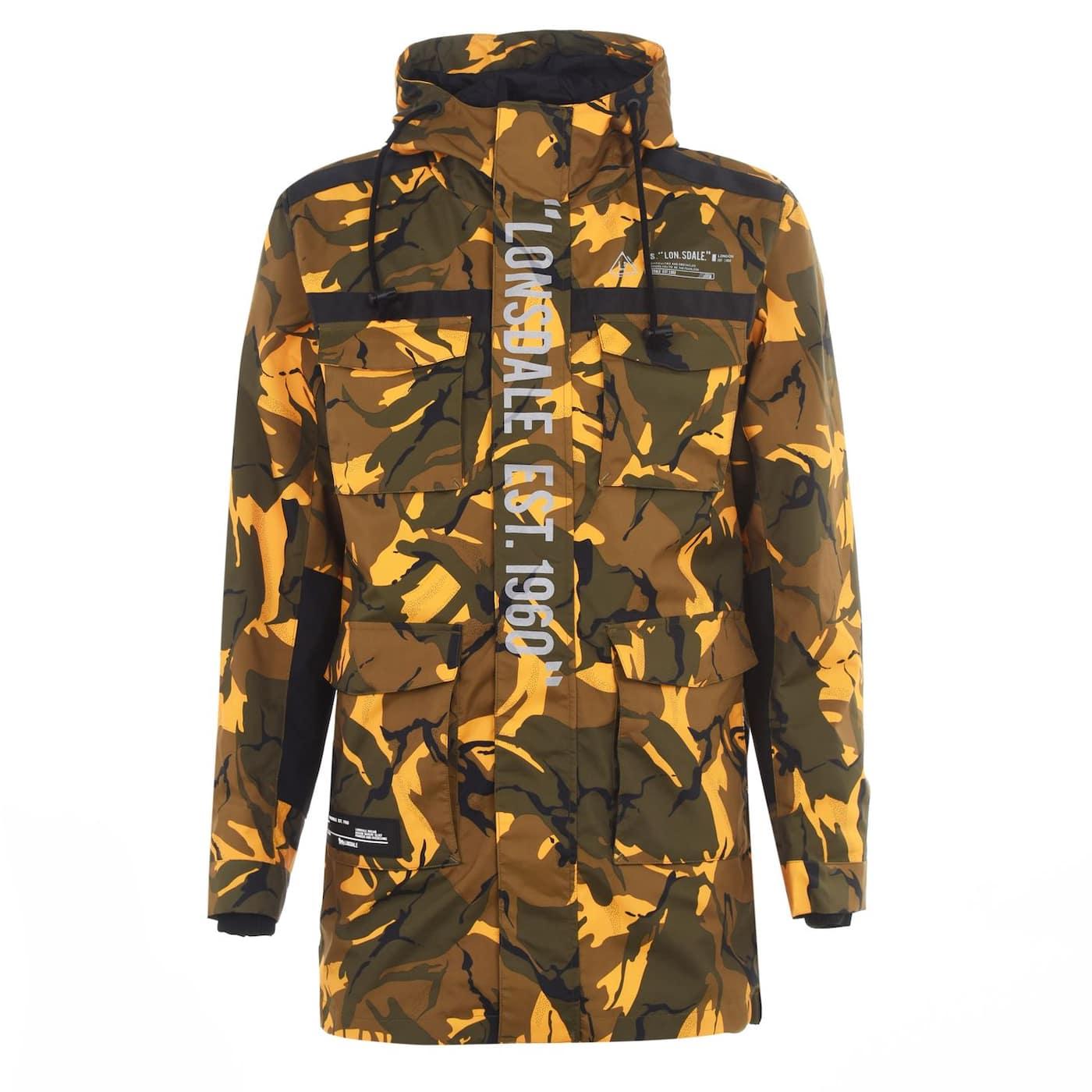 Lonsdale Zip Jacket Mens