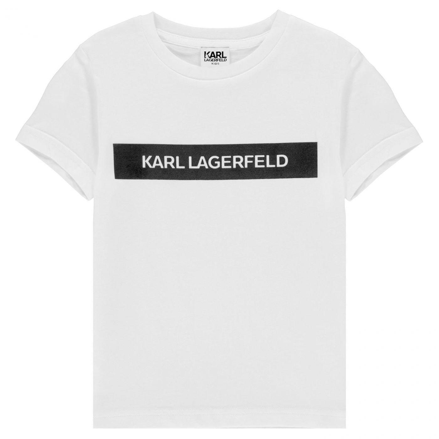 Karl Lagerfeld Multi Theme T Shirt
