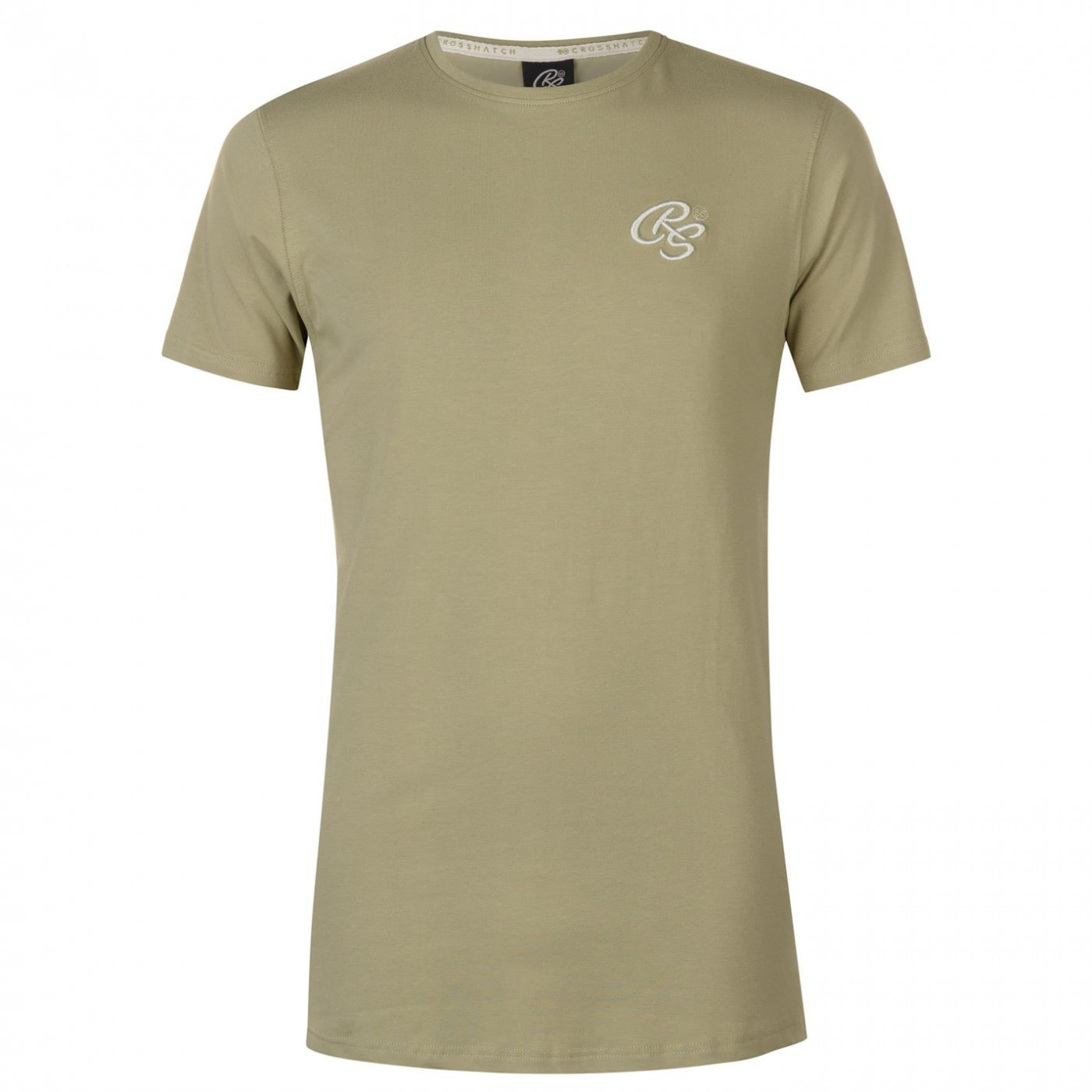 Crosshatch Hulton T Shirt Mens