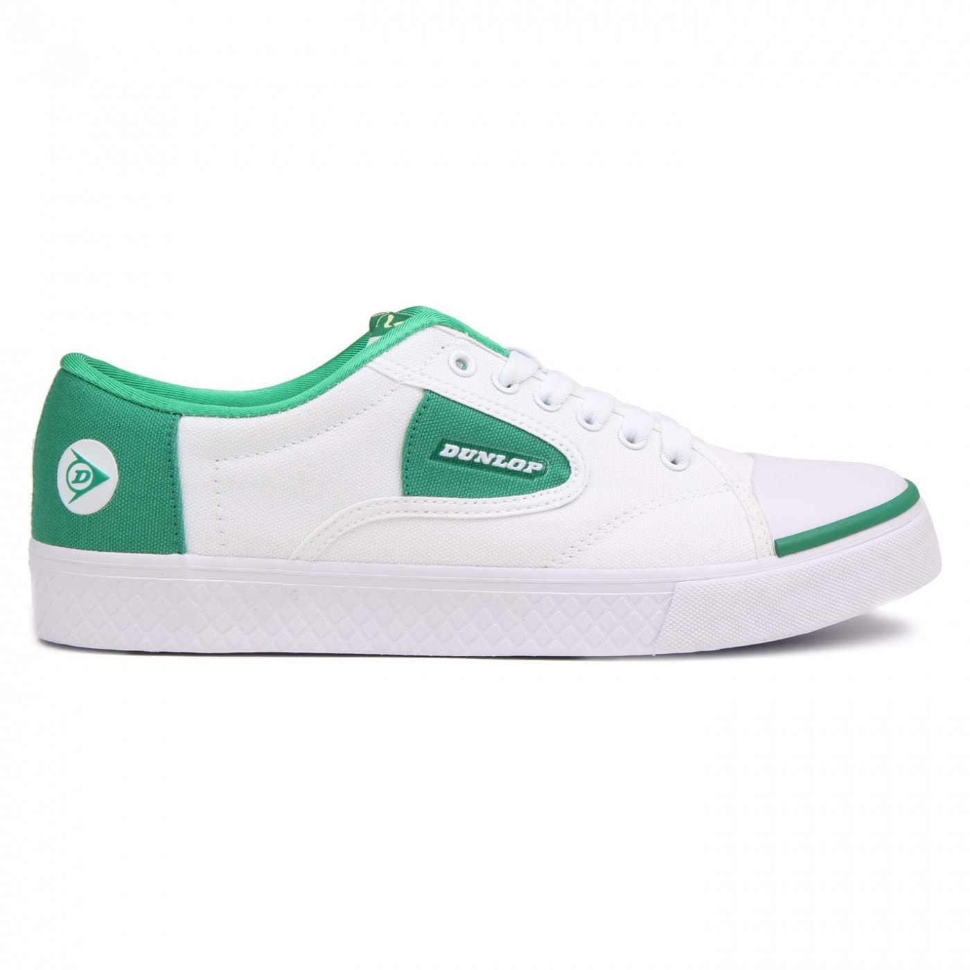 Dunlop Green Flash Mens Trainers