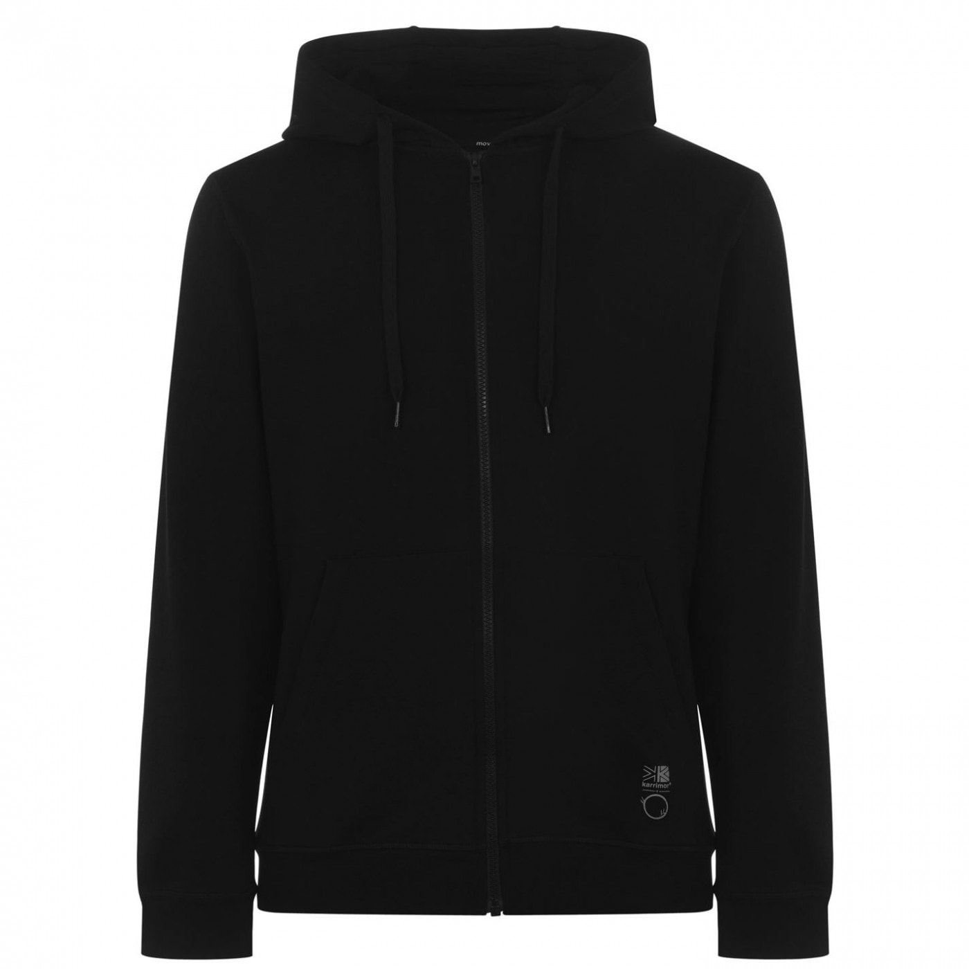 Karrimor X OM Sustainable Ultra Soft Bamboo and Organic Cotton Zipped Fleece Hoodie