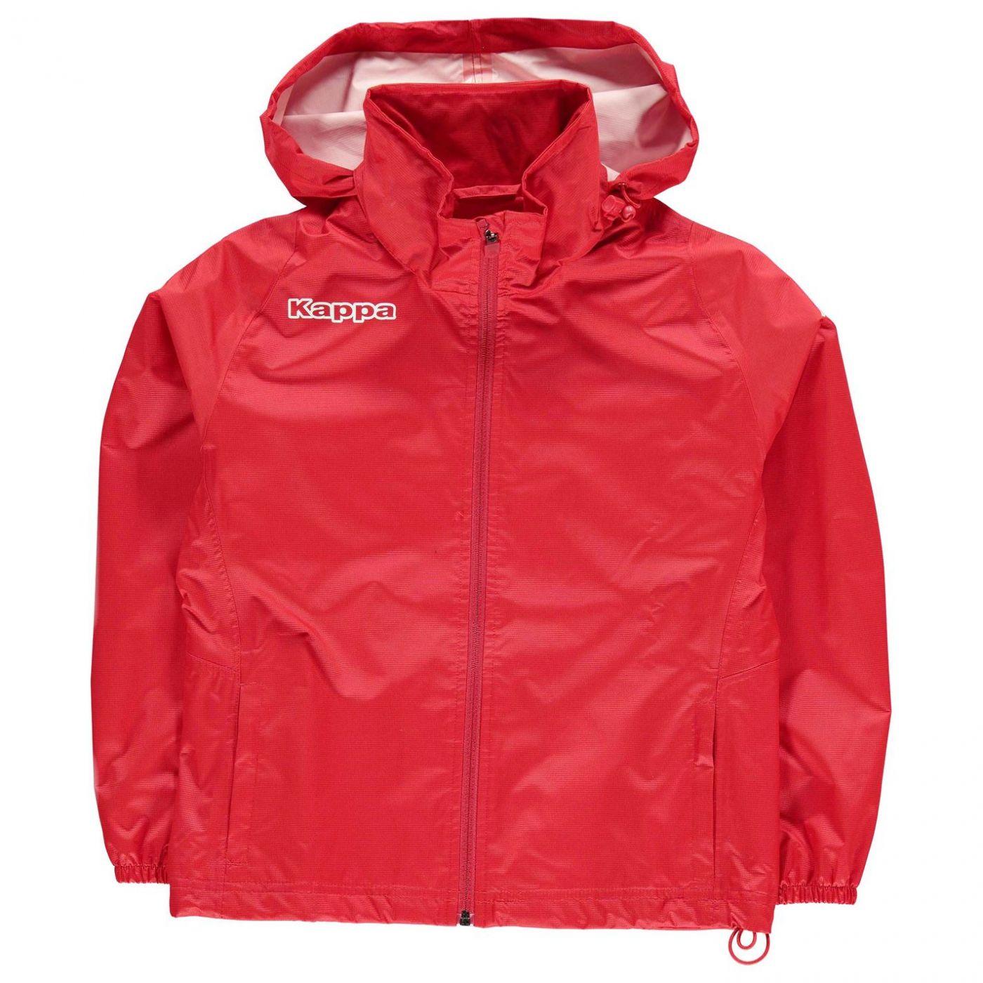 Kappa Train Rain Jacket Junior Boys