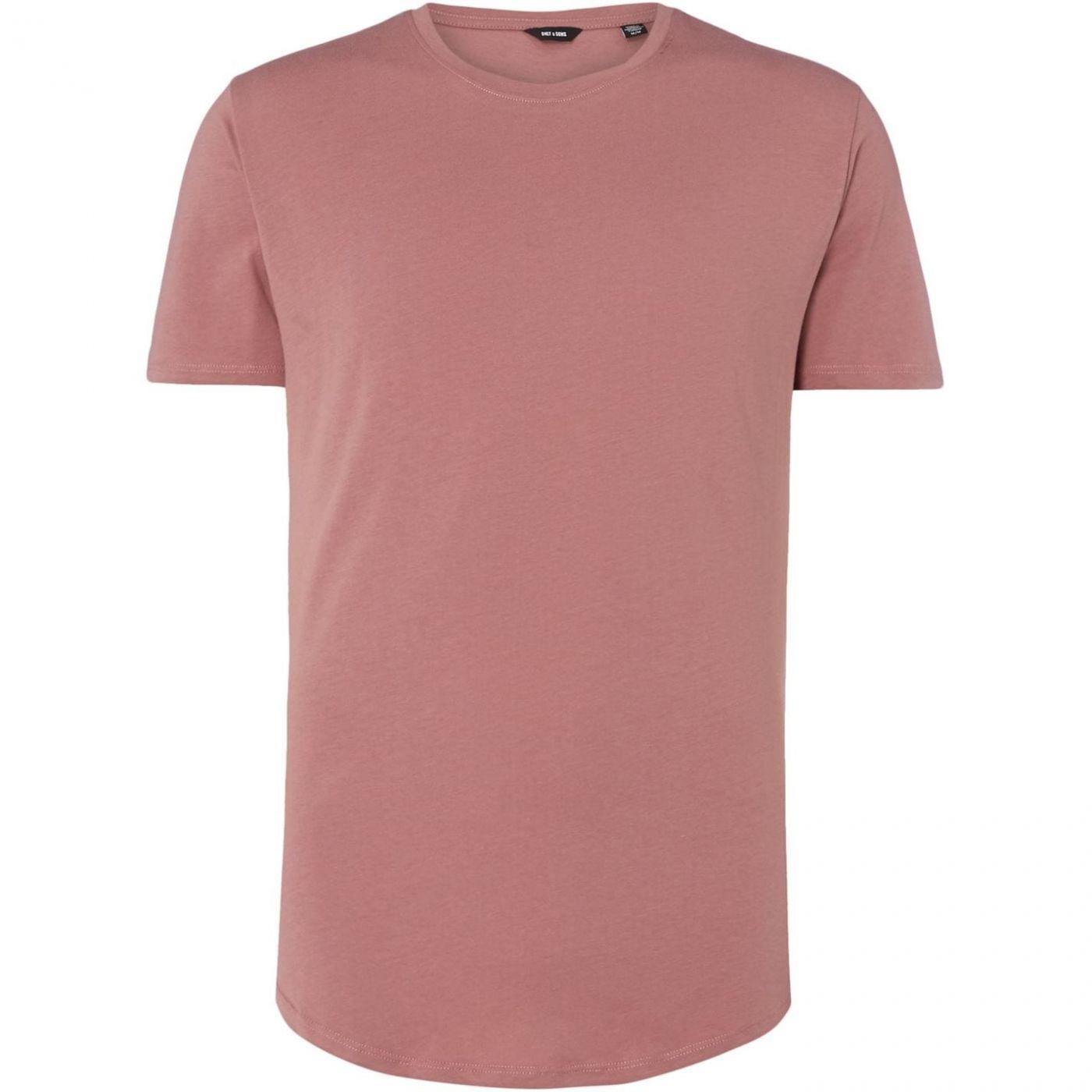 Only and Sons Matt Long Line T-Shirt