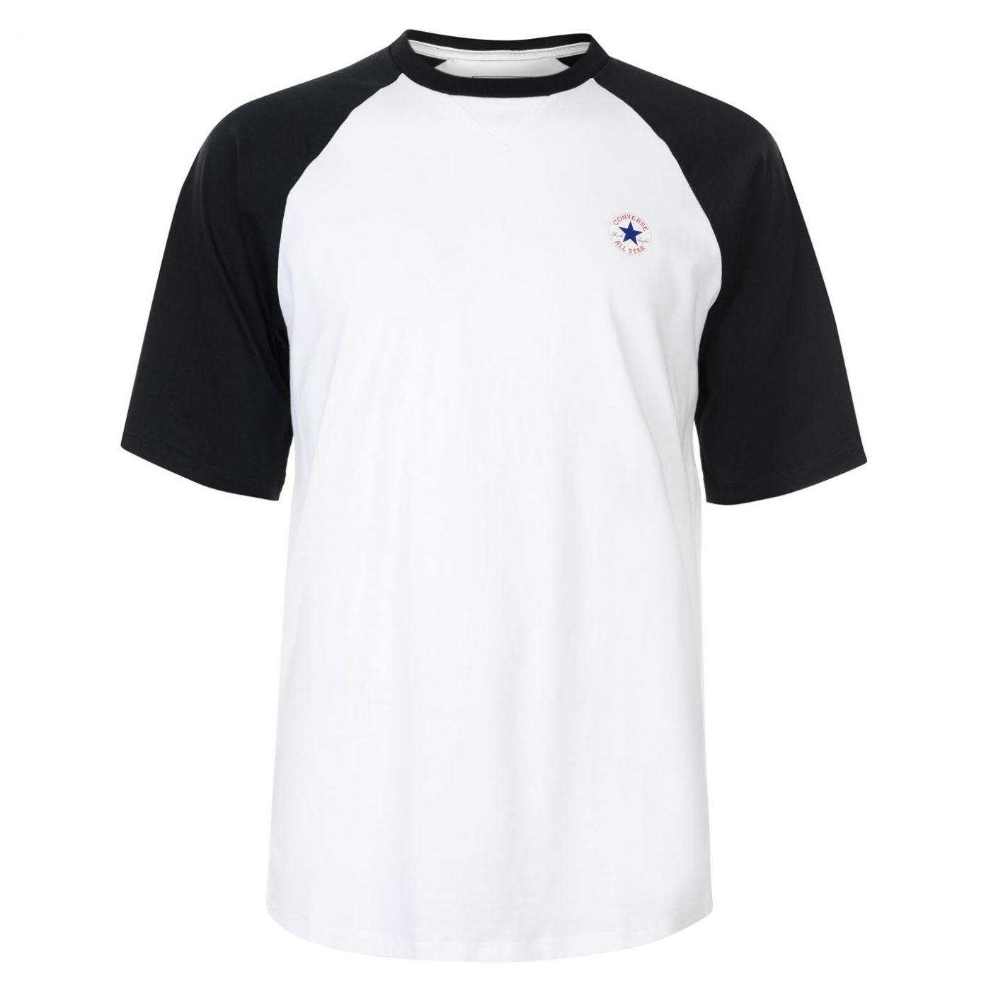 Converse Short Sleeve Raglan T Shirt