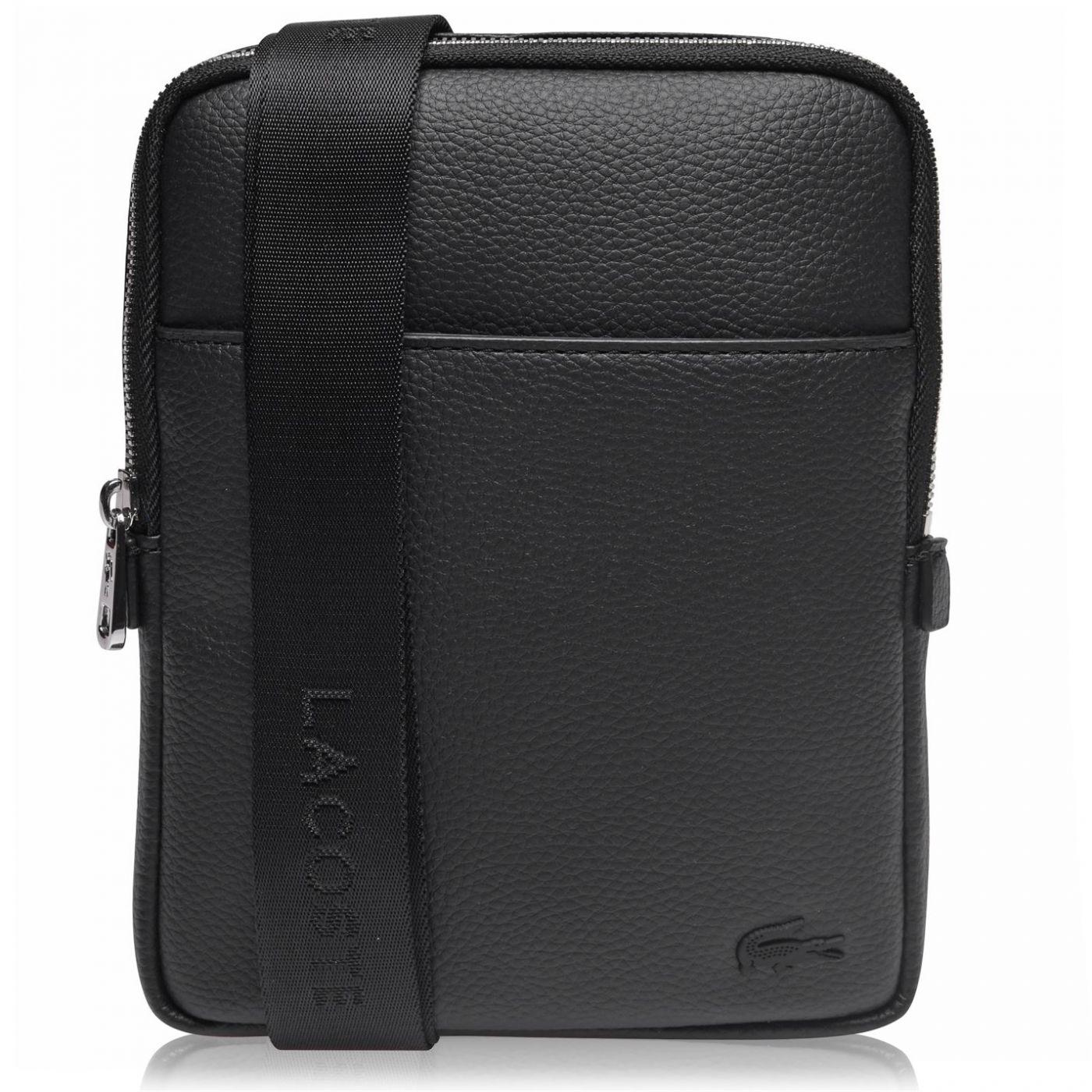 Lacoste Flat Cross Body Bag