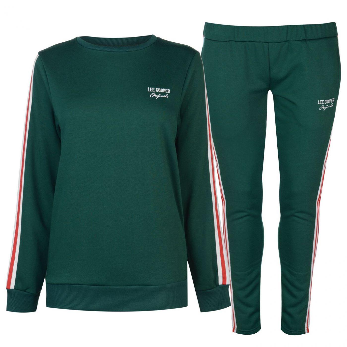 Lee Cooper Womens Fleece Jog Suit