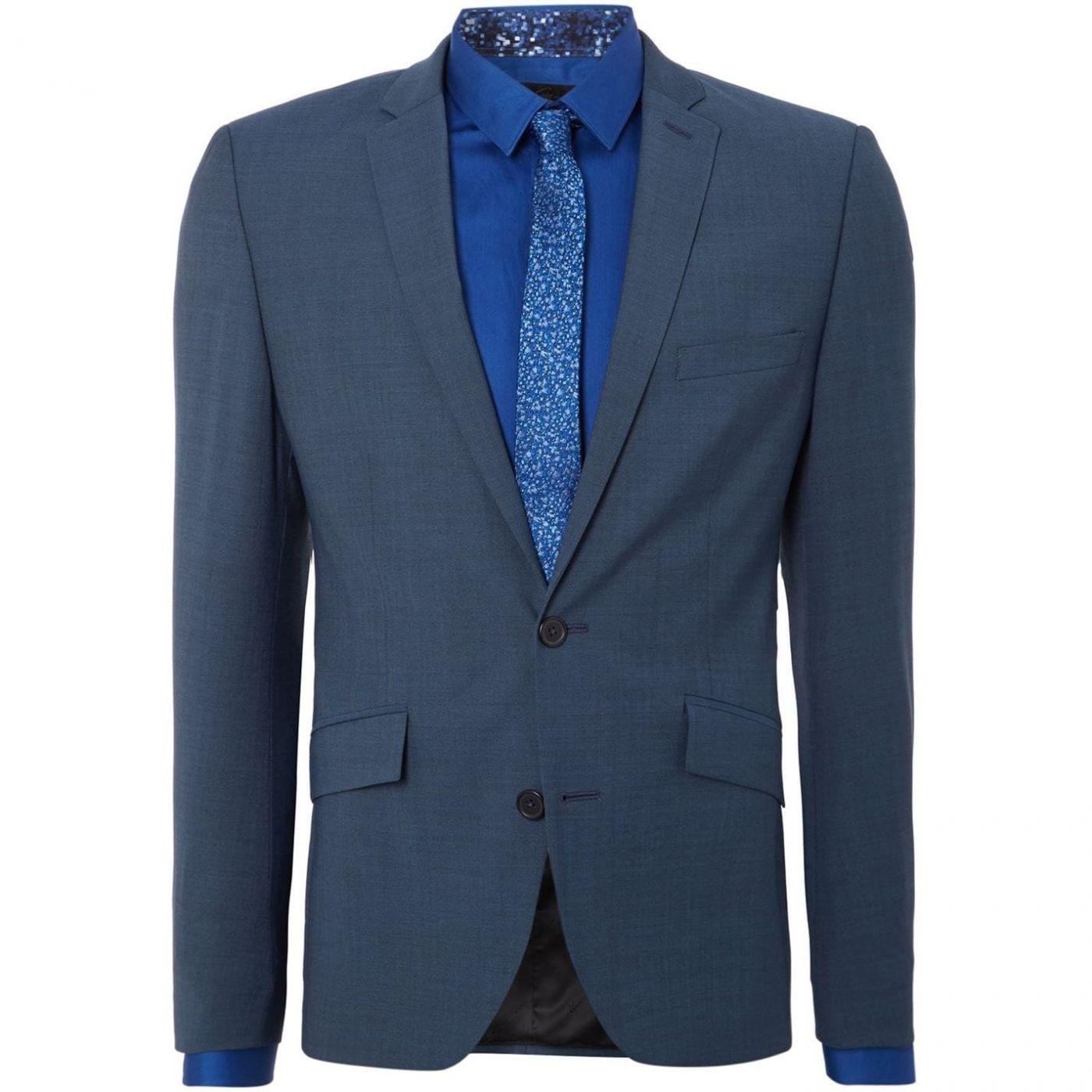 Kenneth Cole Nolan Notch Lapel Slim Fit Suit Jacket