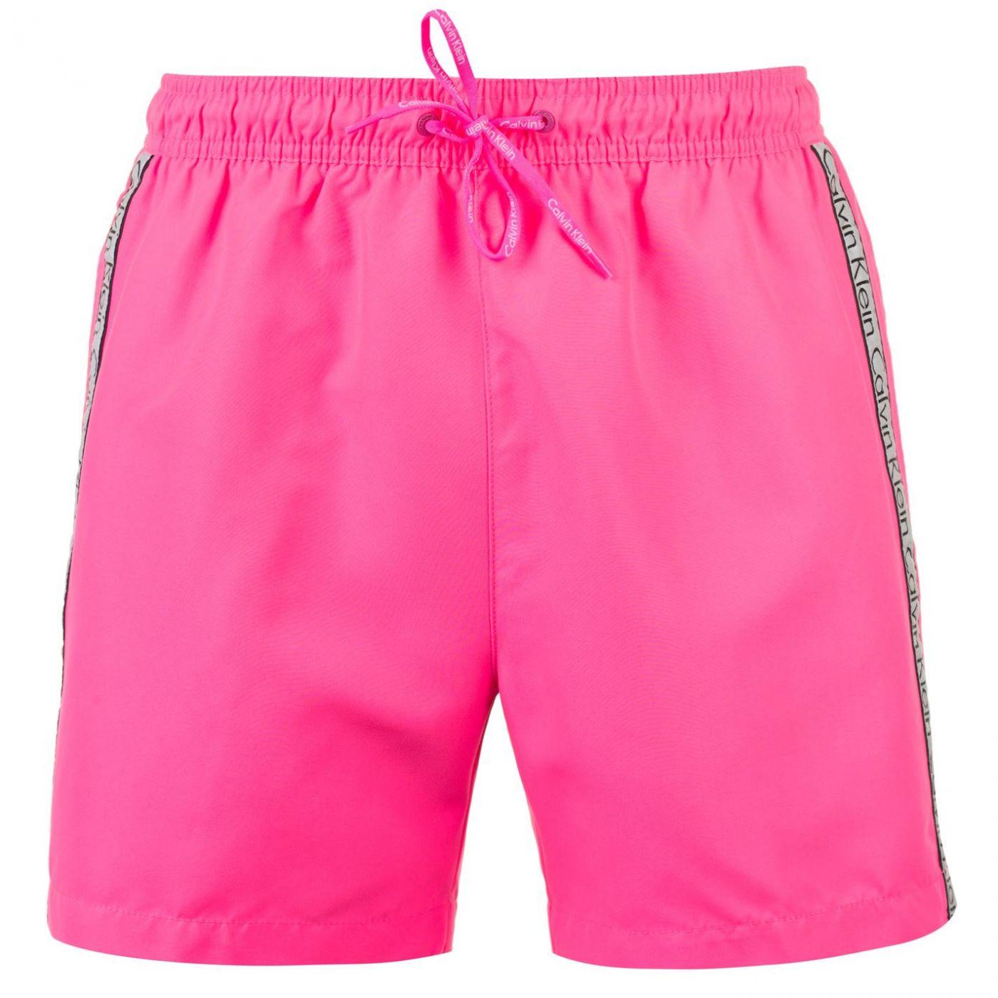 8049afda7 Predaj skončil - Calvin Klein Taped Drawstring Swim Shorts