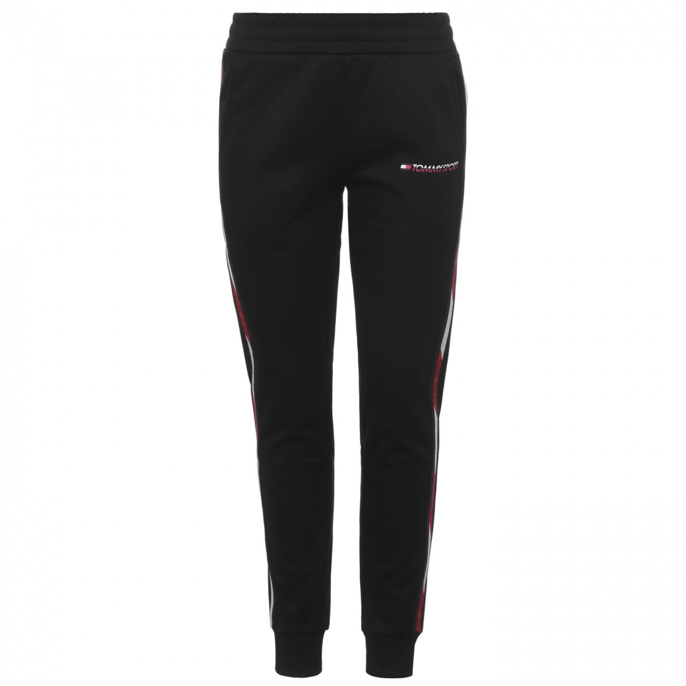 Tommy Sport Logo Tape Jogging Bottoms