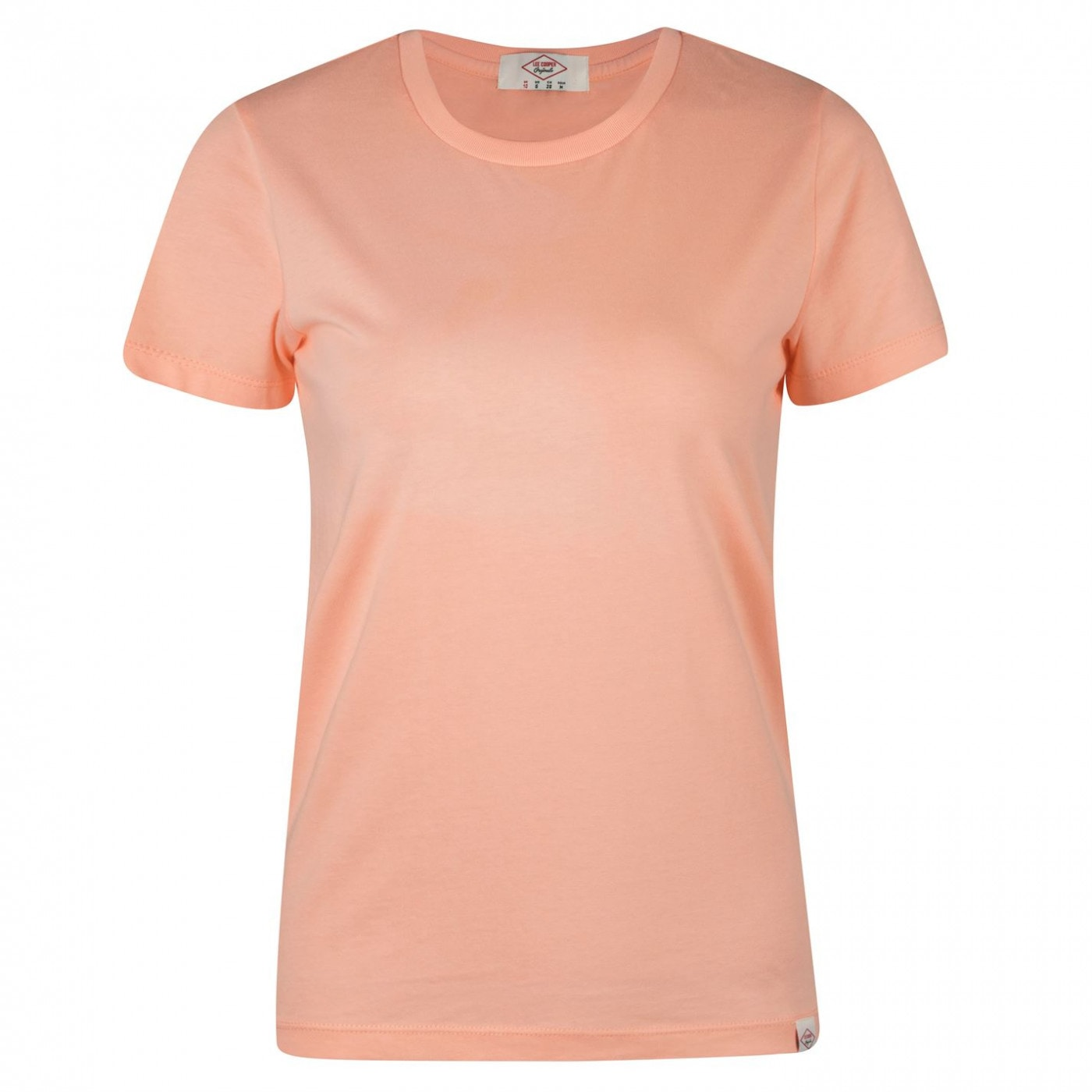 Lee Cooper Brush Cotton T Shirt Ladies