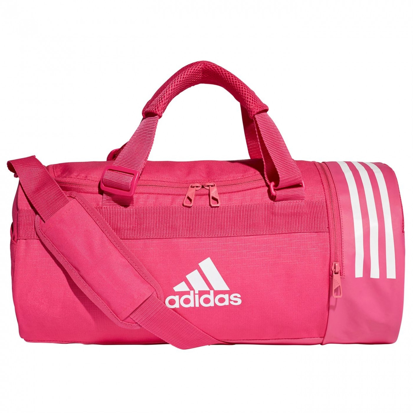 Adidas Convertible 3-Stripes Duffel Bag Small