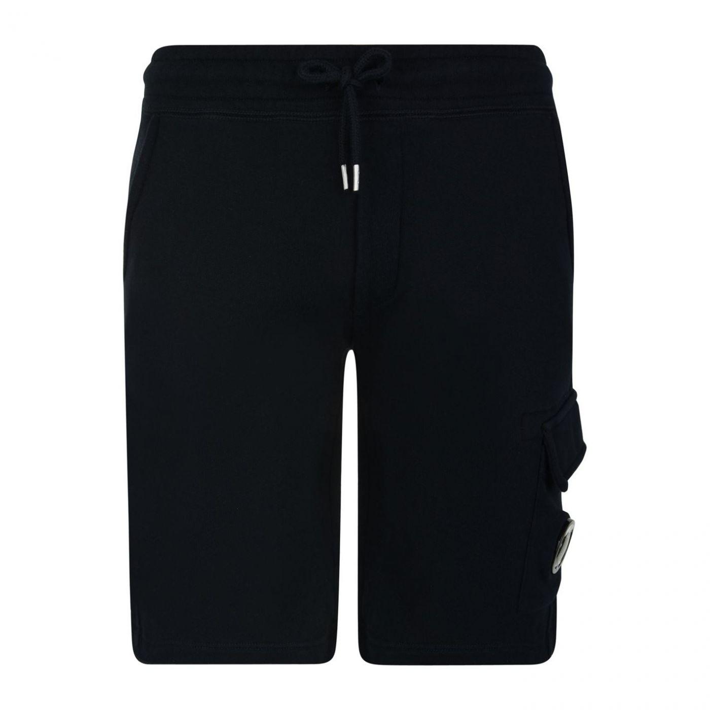 CP COMPANY Junior Boys Lens Fleece Shorts