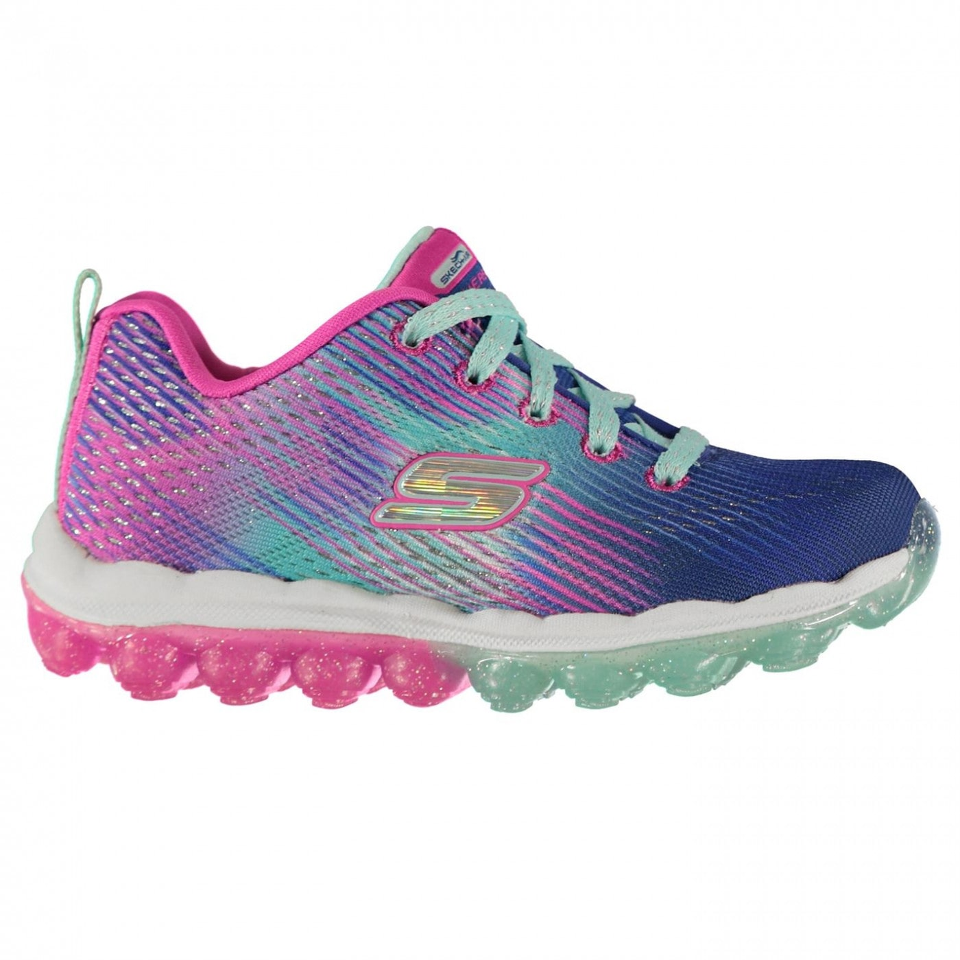 Skechers Air Bounce Child Girls Trainers