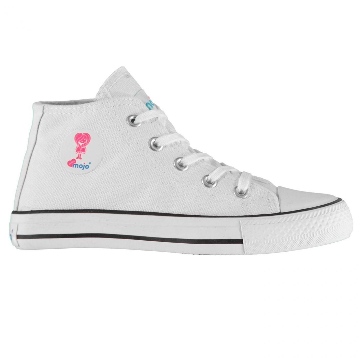 922baeba5cff Predaj skončil - MOJO Hi Top Childrens Canvas Shoes. Mojo Hi Top dětské plátěné  boty ...