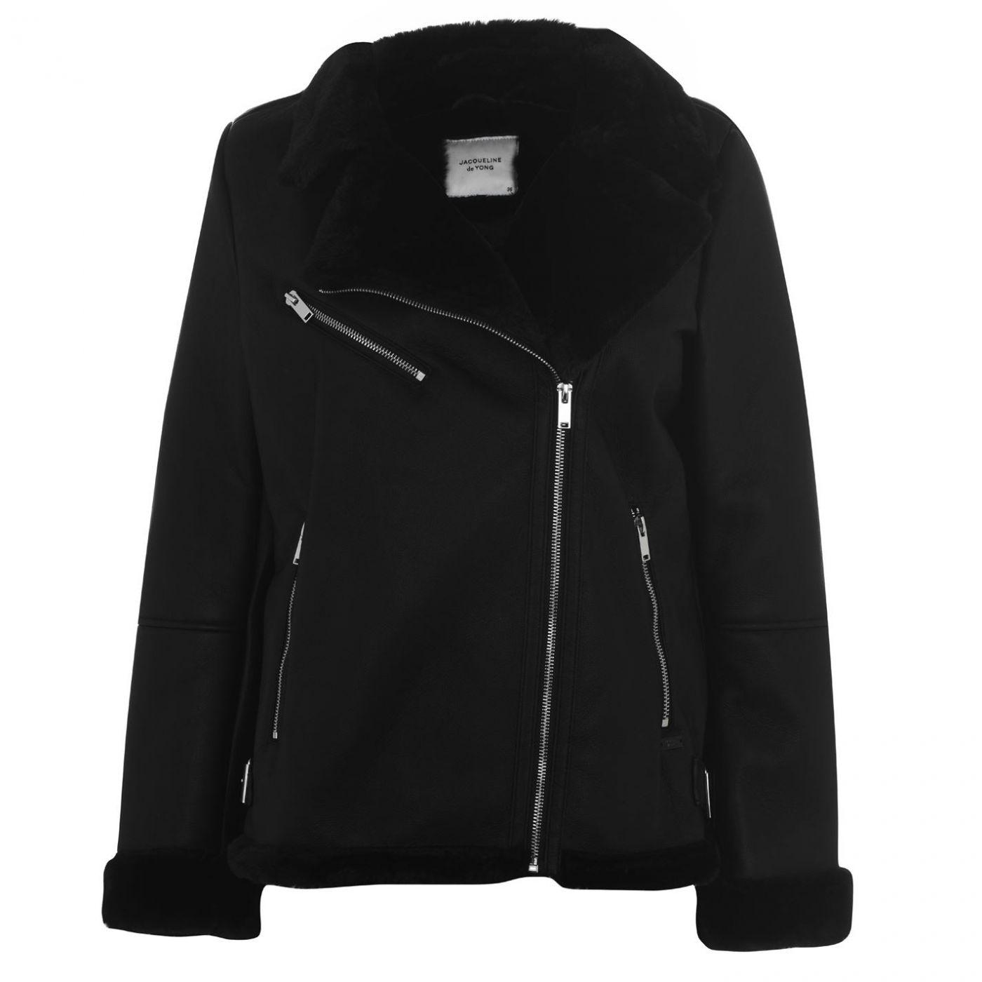 JDY Lynn Faux Sherling Jacket