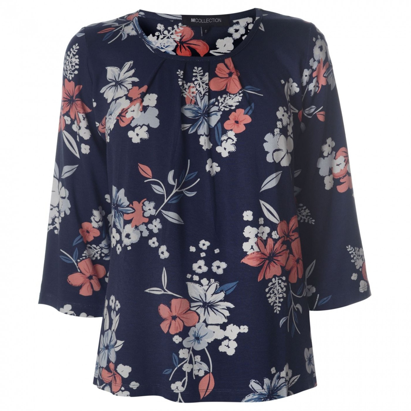 M Collection Printed Top Ladies