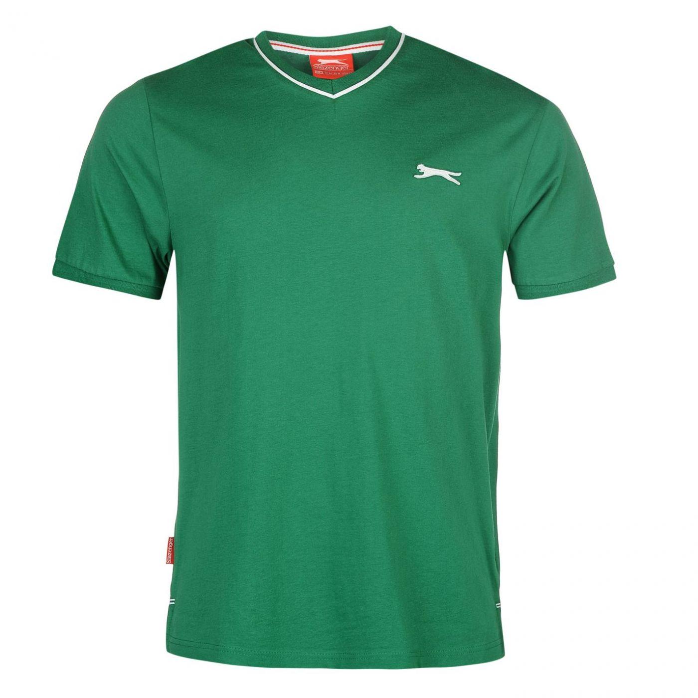 Triko Triko Slazenger V Neck T Shirt pánské