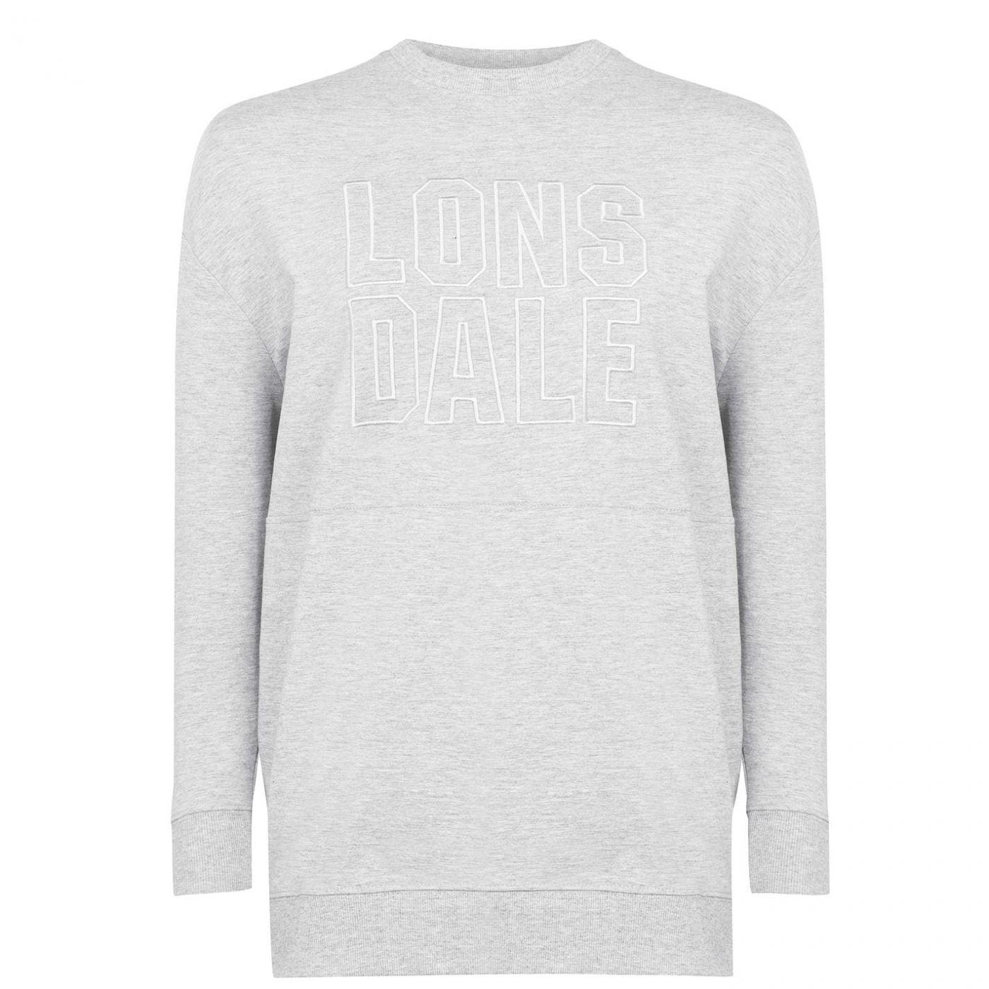 Lonsdale Crew Sweatshirt Ladies