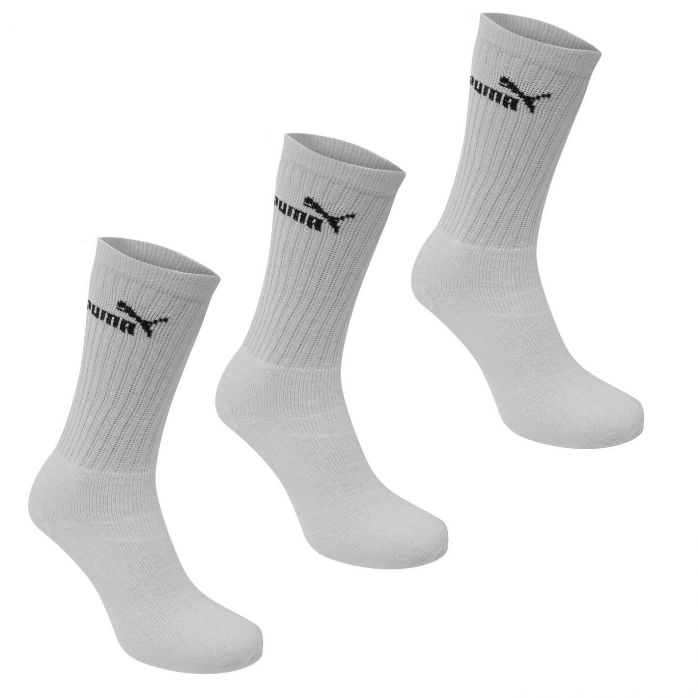 Puma 3 Pack Crew Socks Mens