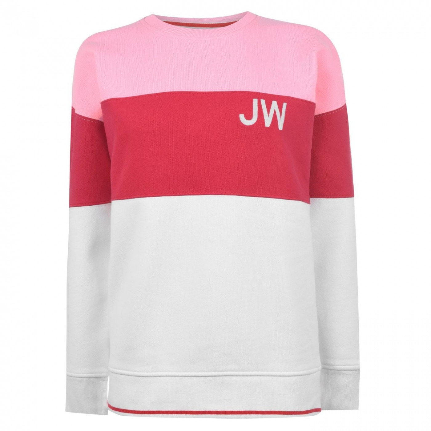 Jack Wills Eyethorne Colour Block Crew Neck Sweatshirt